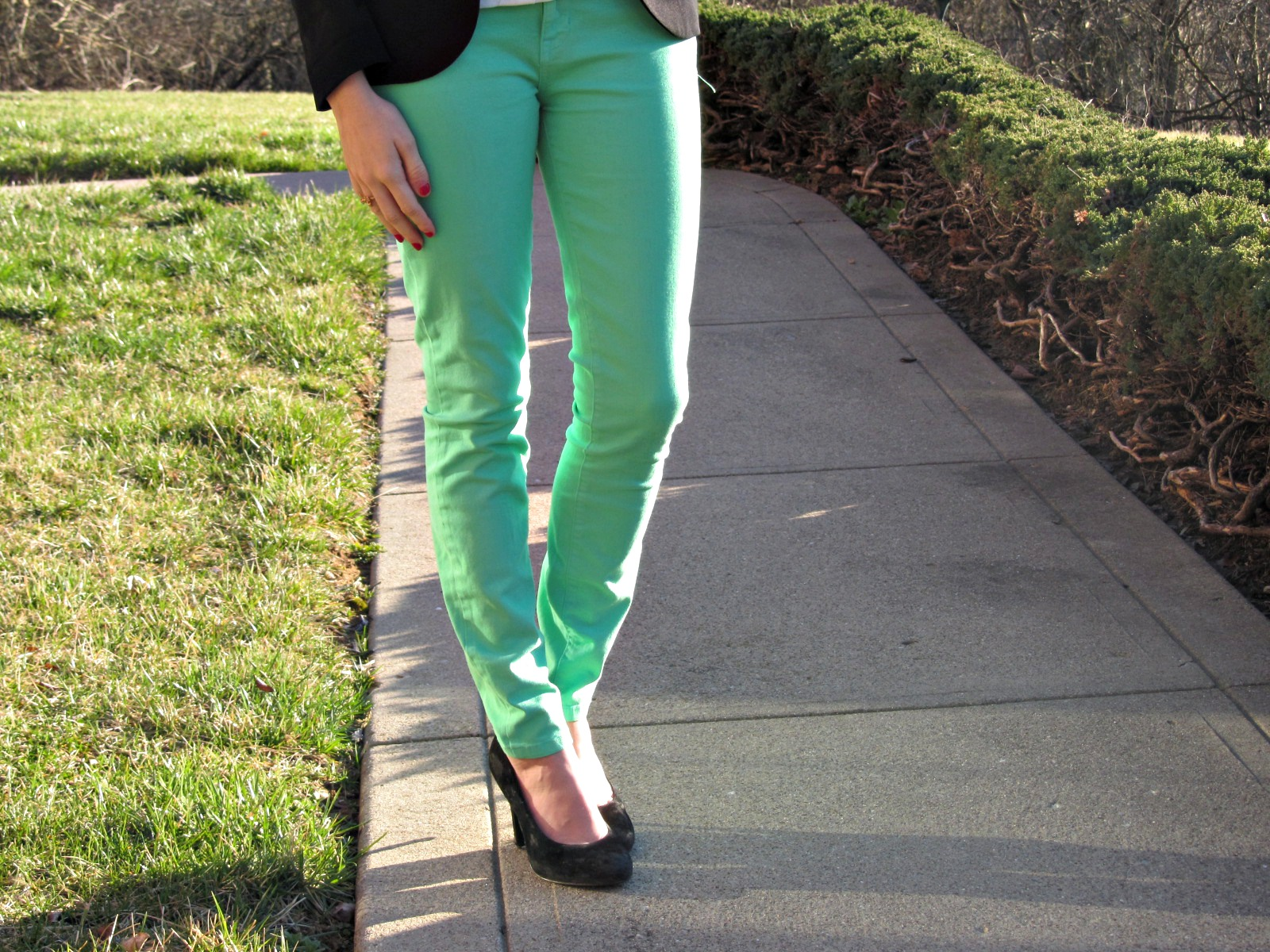 Forever 21 Mint Pants