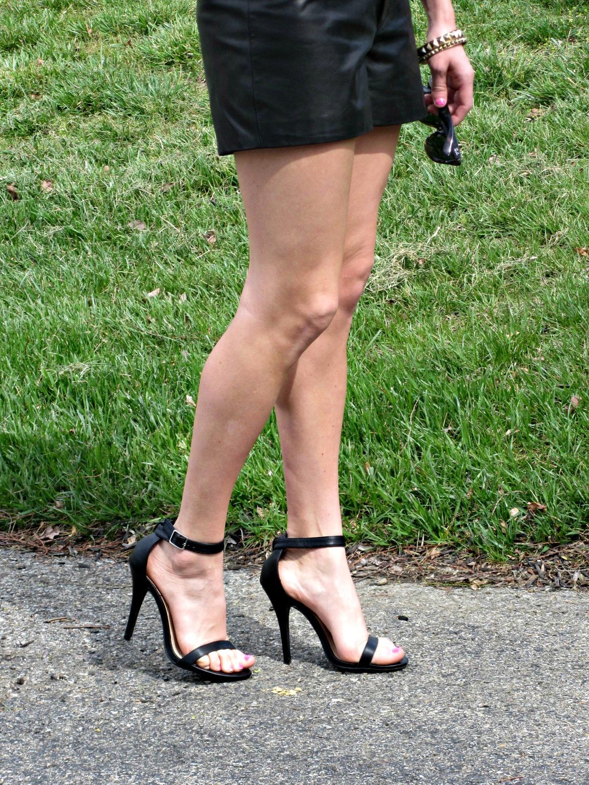 Anne Michelle Enzo Ankle Strap Heels Lulu's
