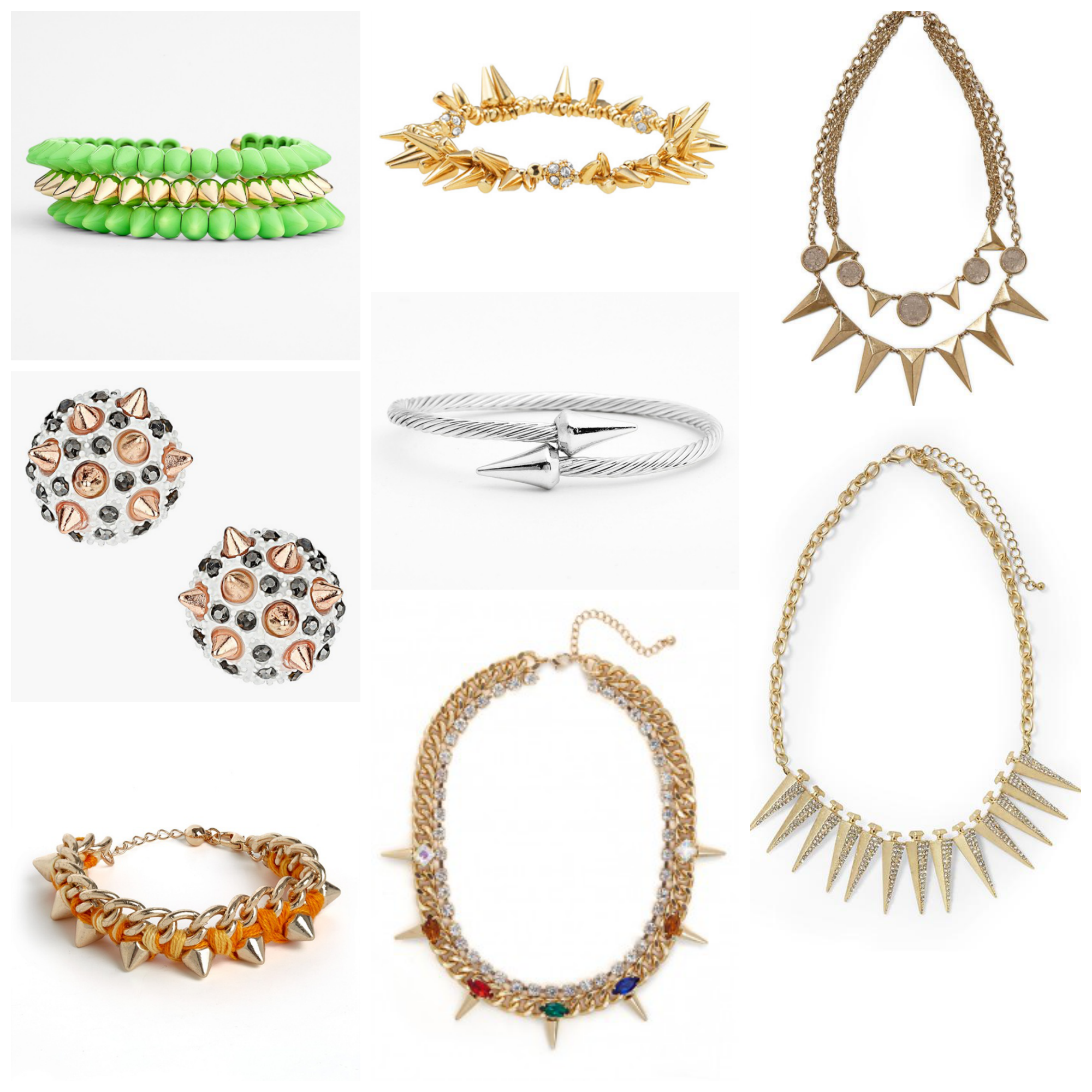 Spiked Jewelry