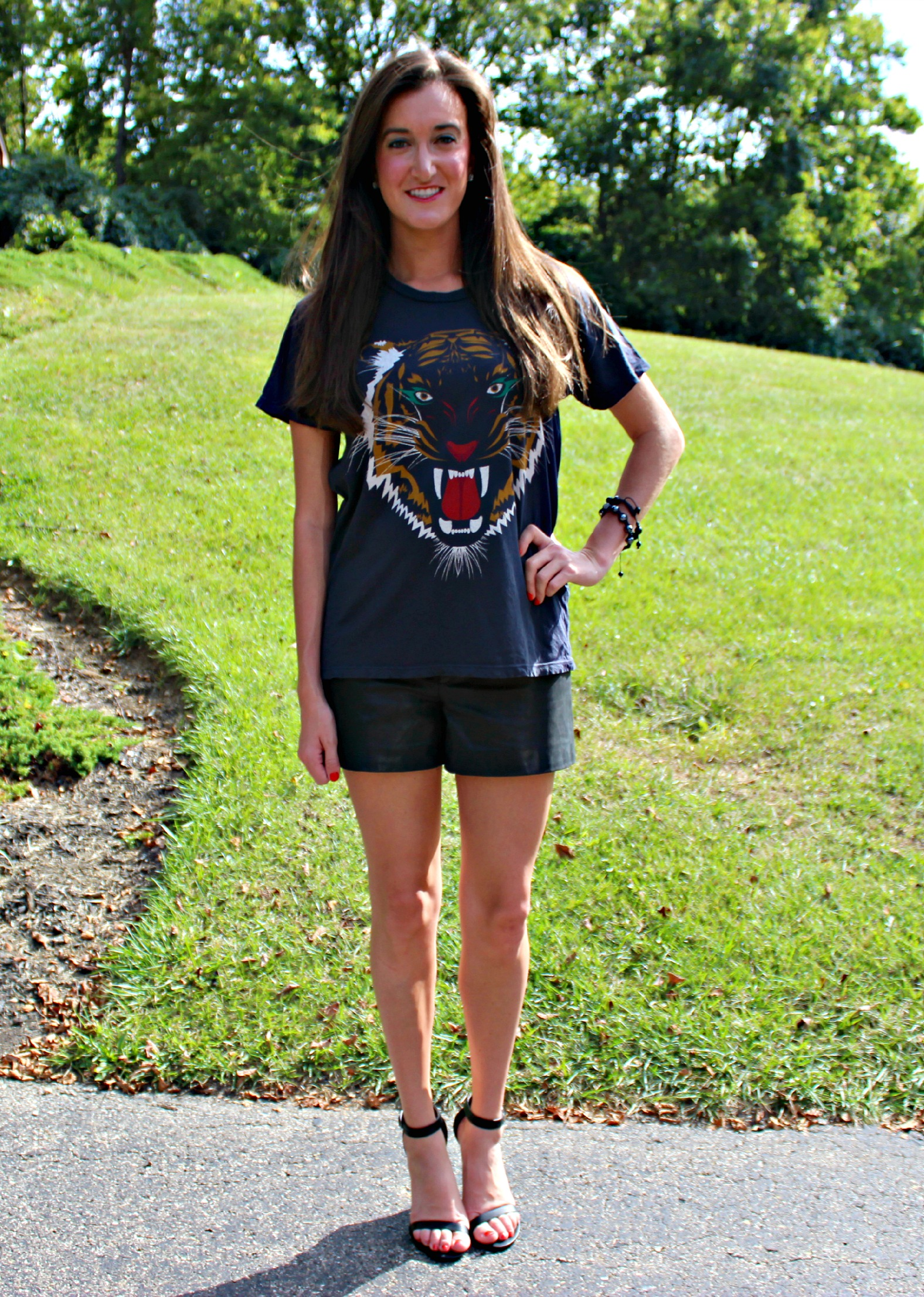 Lovers and Friends Short Sleeve Wildcat Graphic Tee