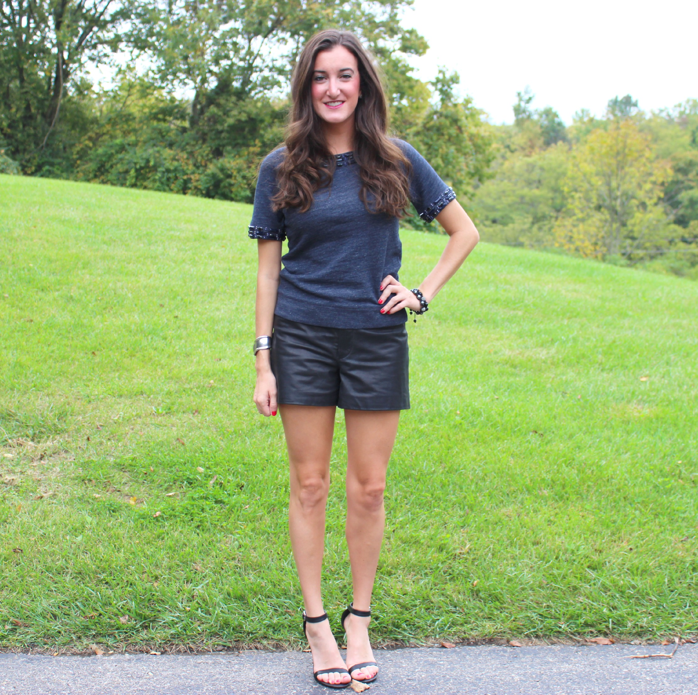Black and Blue outfit