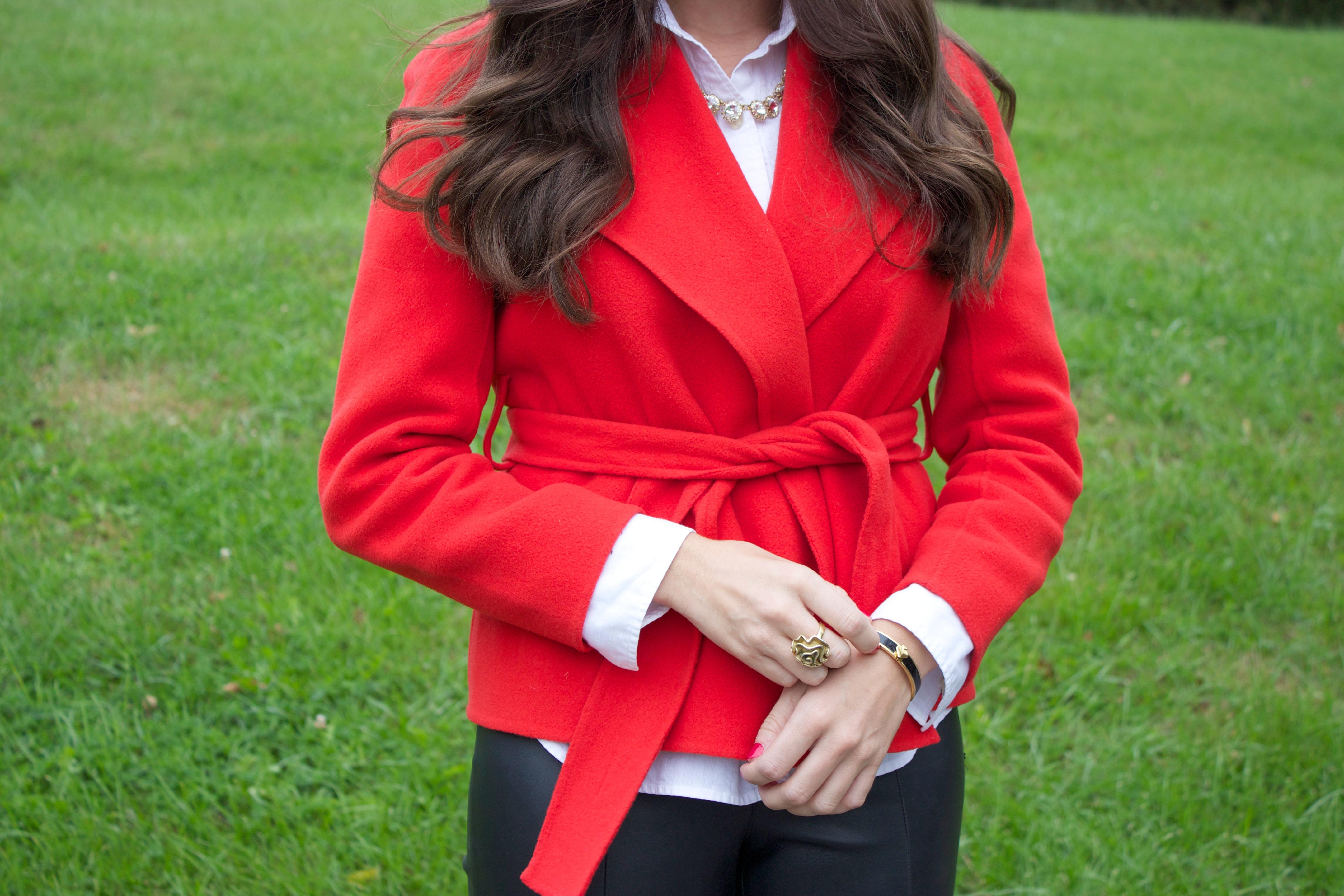 Red Wool Coat