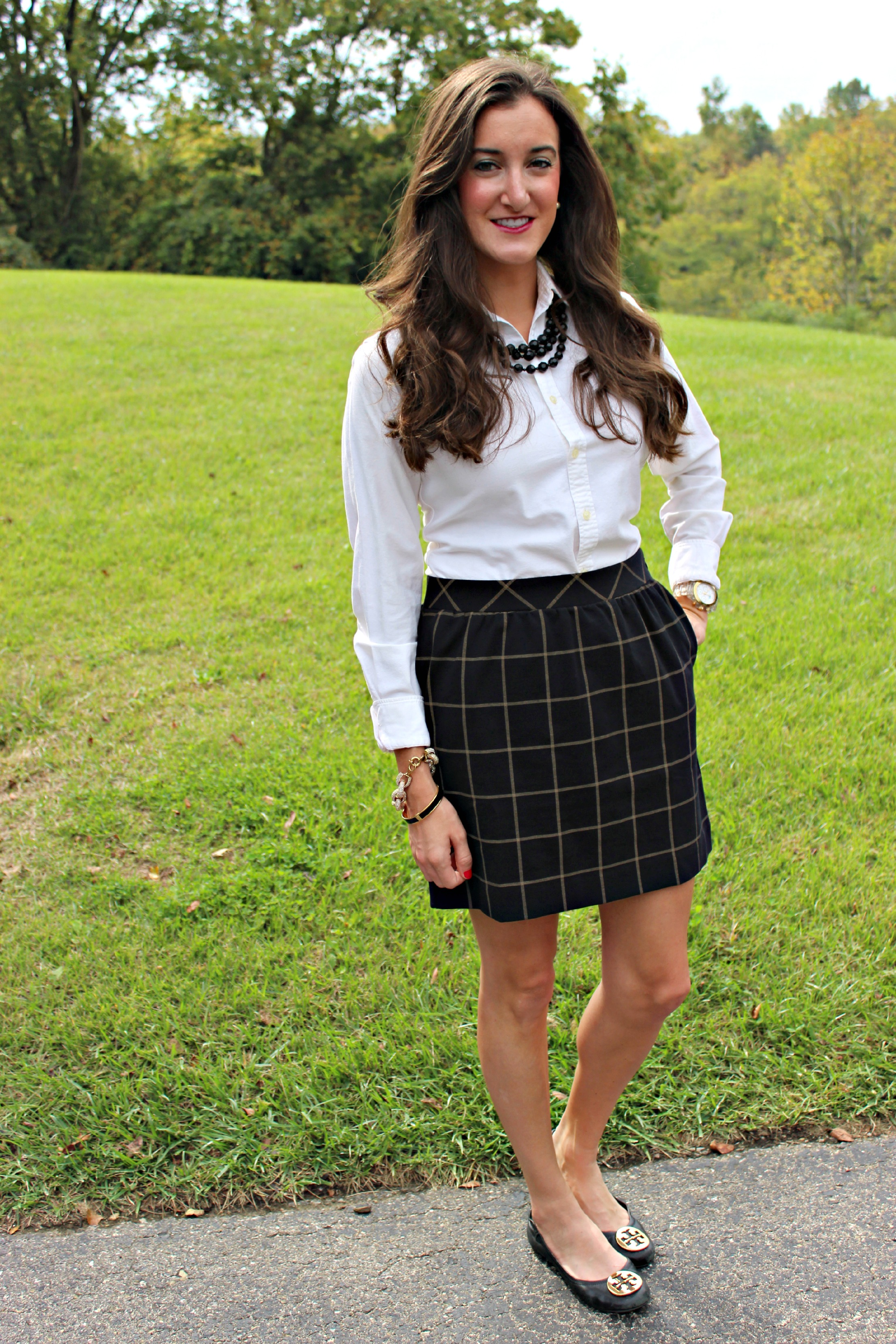 Preppy Fall Outfit