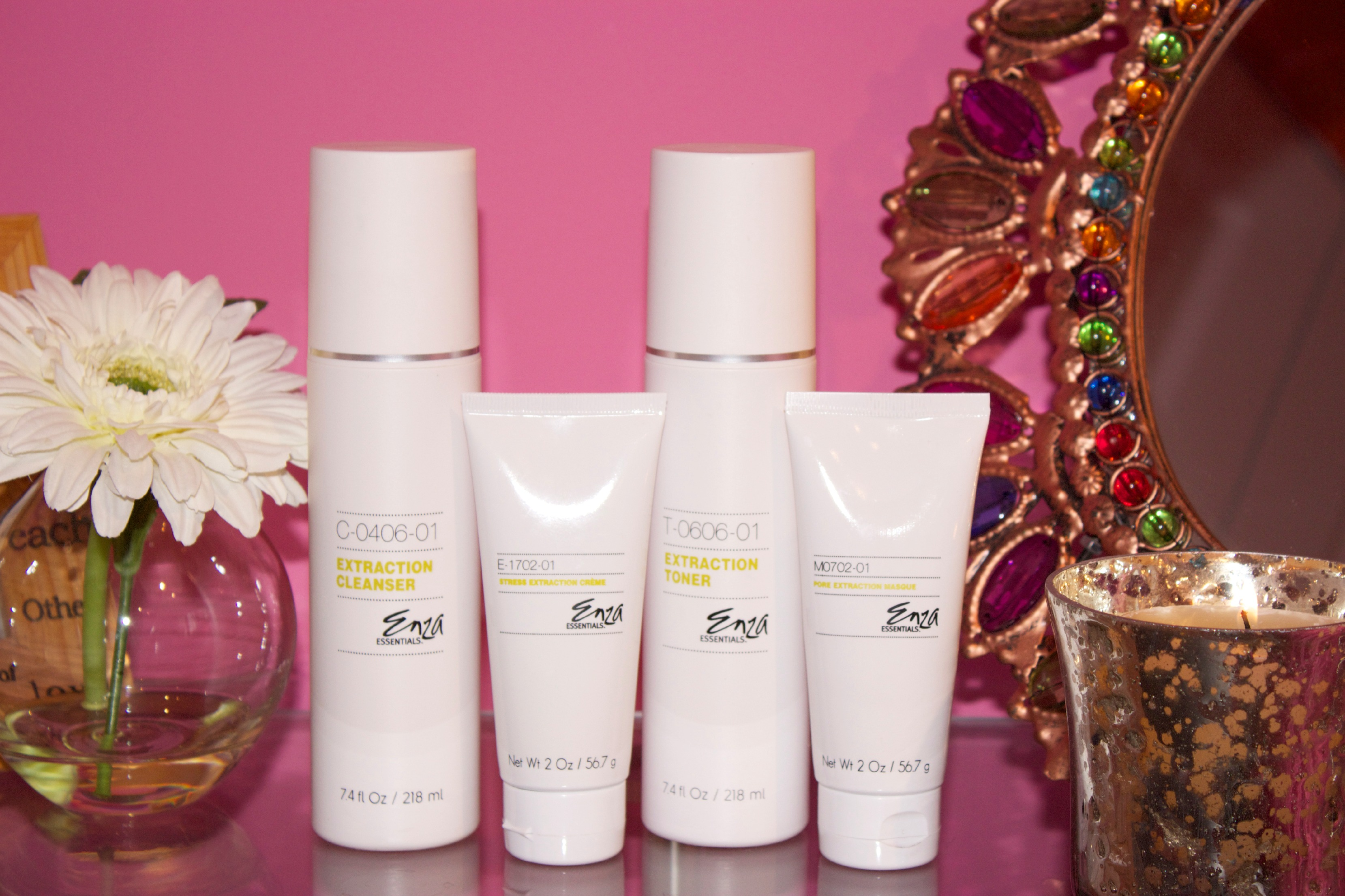 Enza Essentials Skincare Products