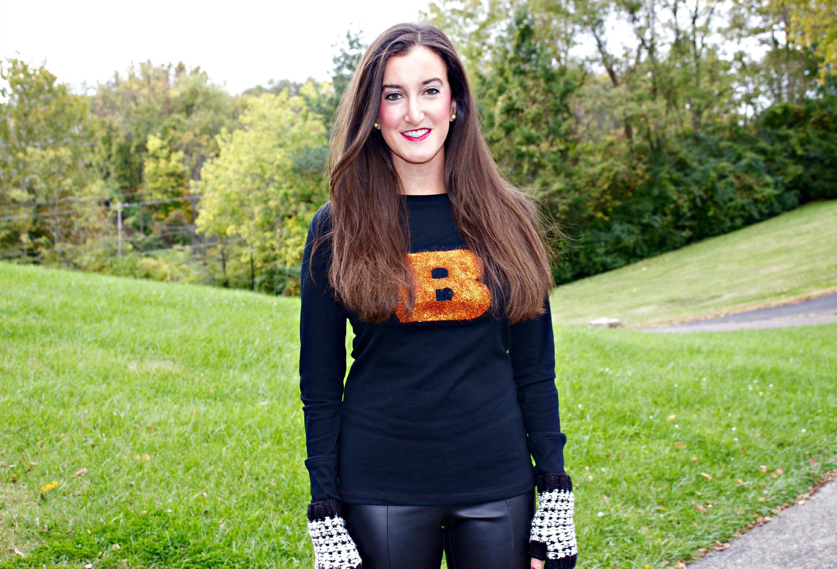 Glittery Cincinnati Bengals Shirt