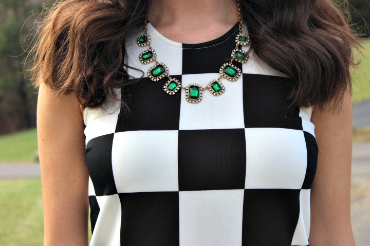 Baublebar Emerald Cut Necklace