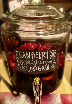 Cranberry Pomegranate Sangria