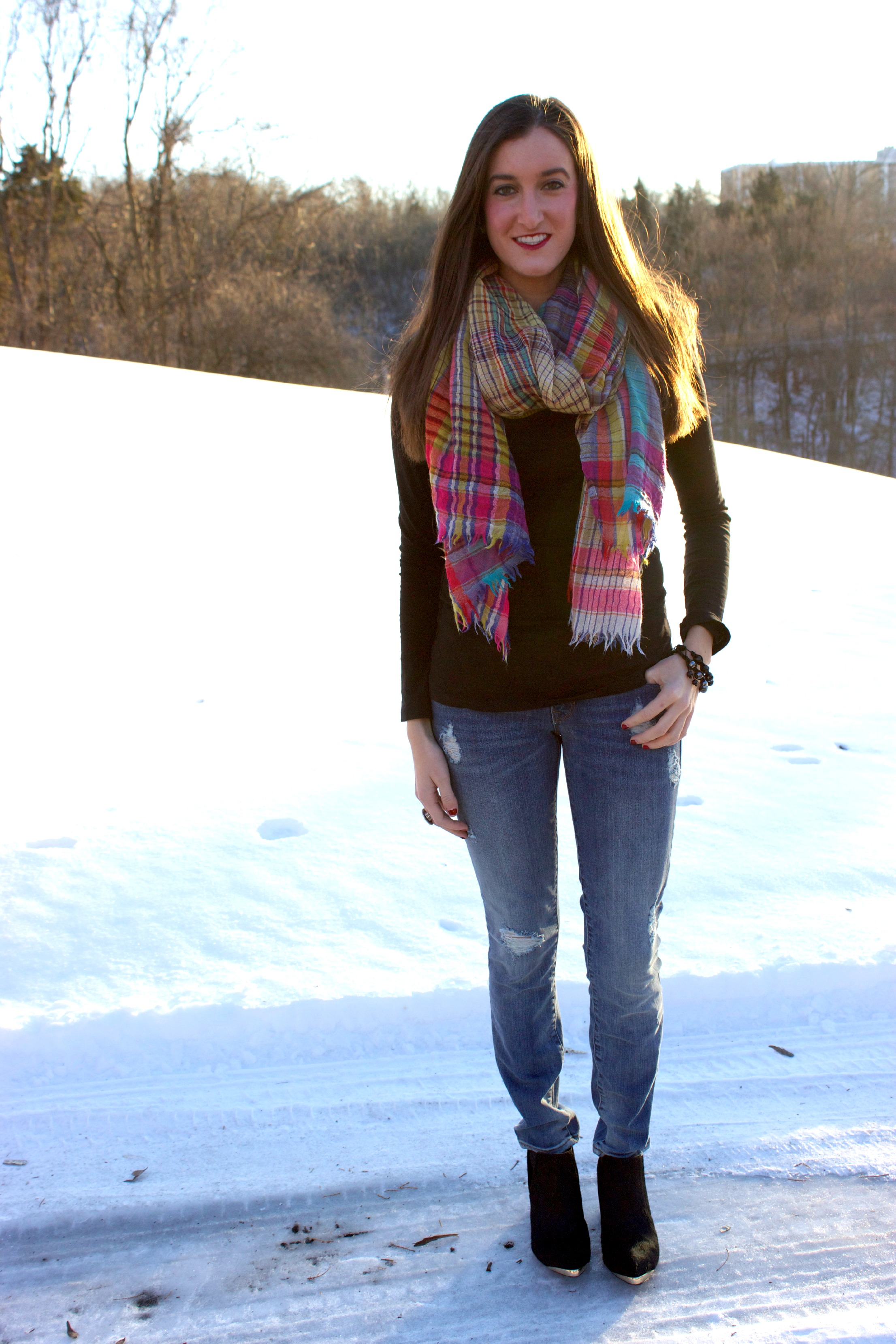 Wool Anthropologie Scarf
