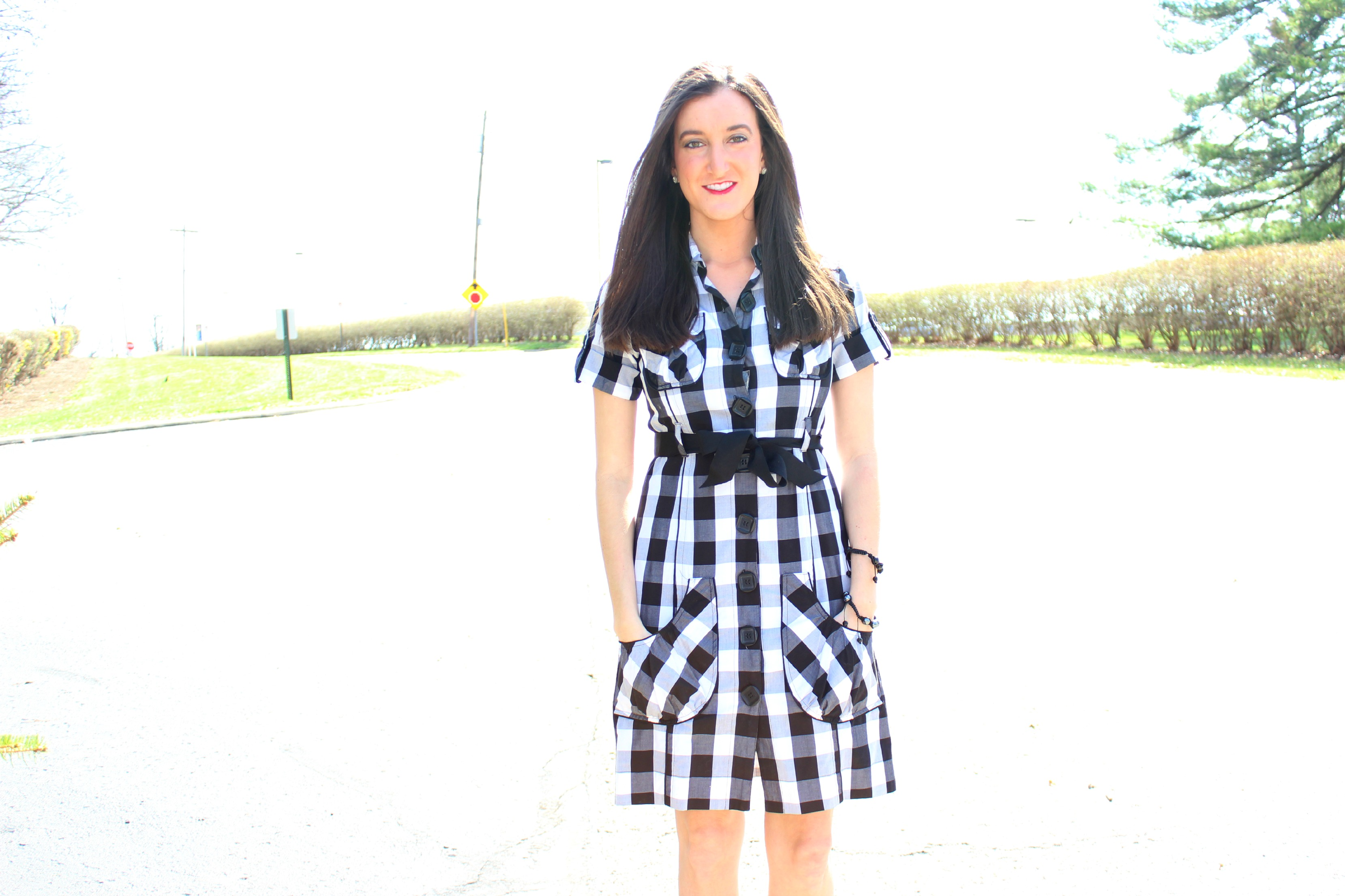 How to Wear a Gingham Dress