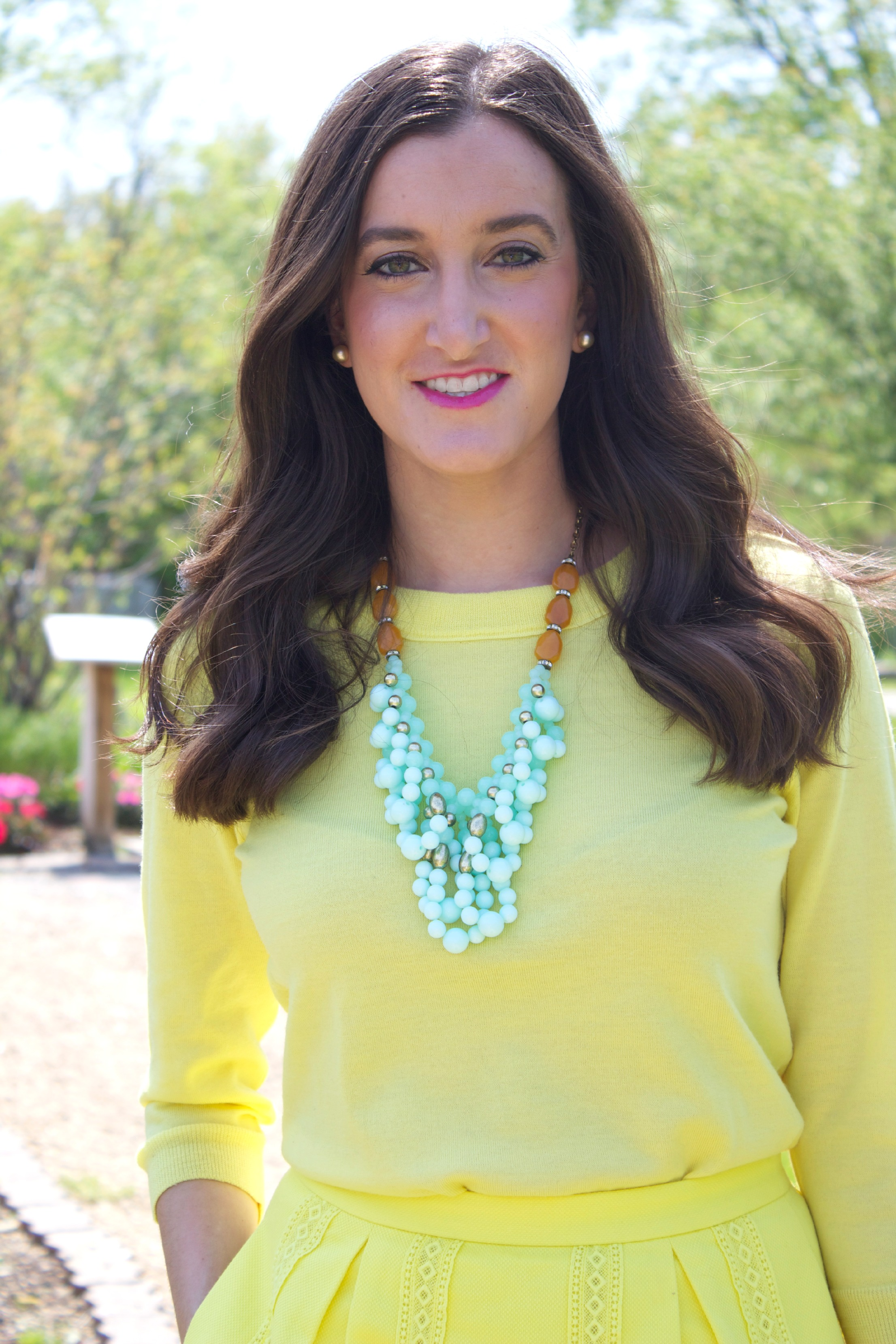 Yellow Monochromatic Outfit
