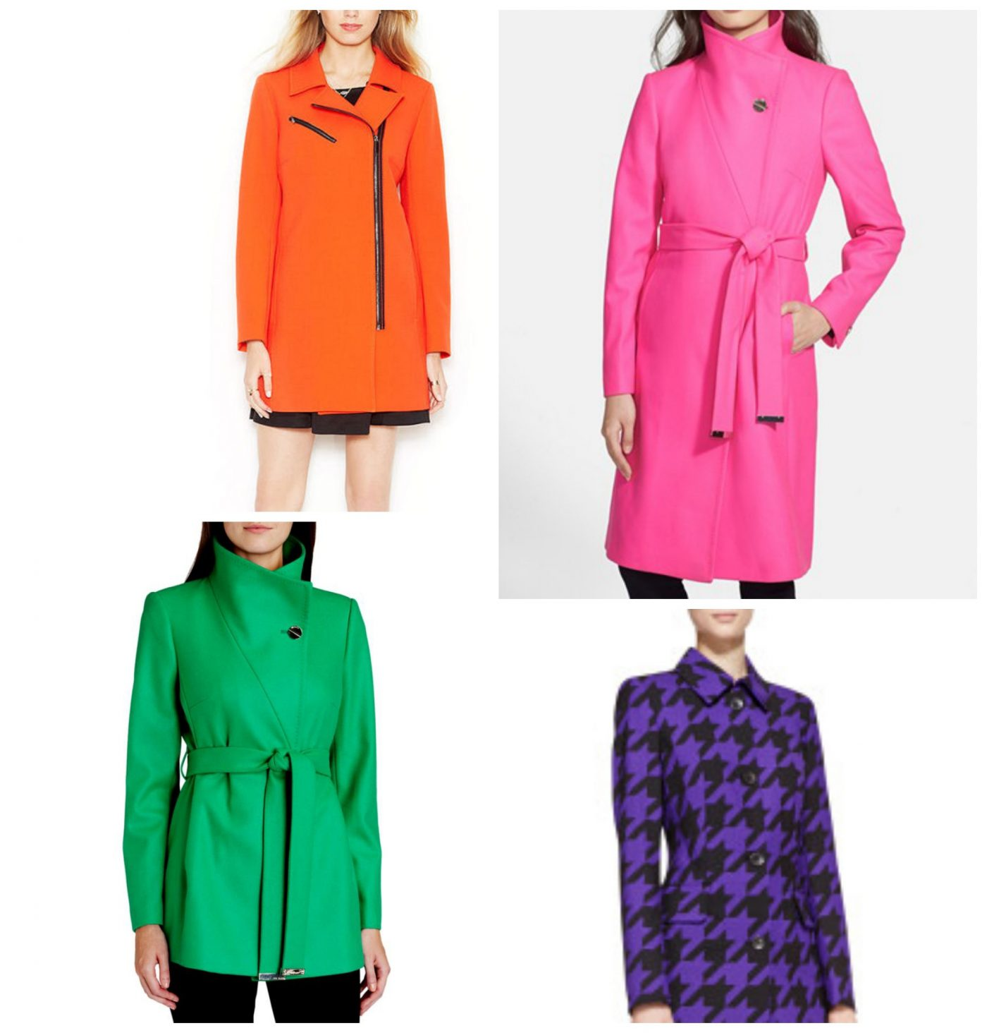 Colorful Winter Coats
