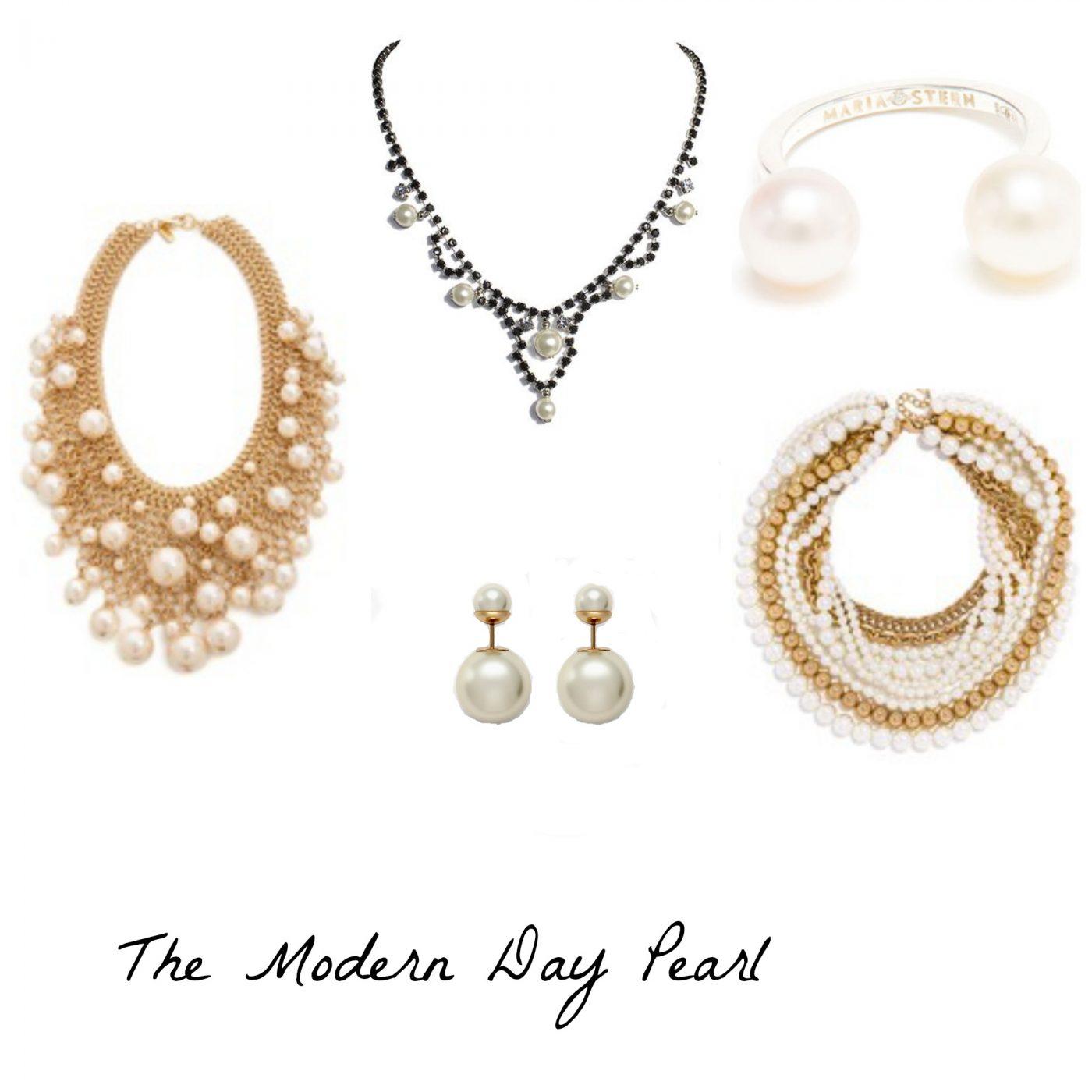 Modern Day Pearl Jewelry Trend