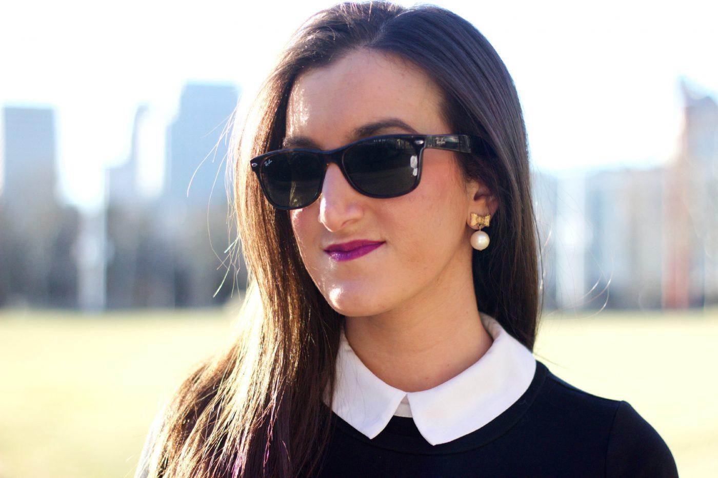 Kate Spade Bow Pearl Earrings