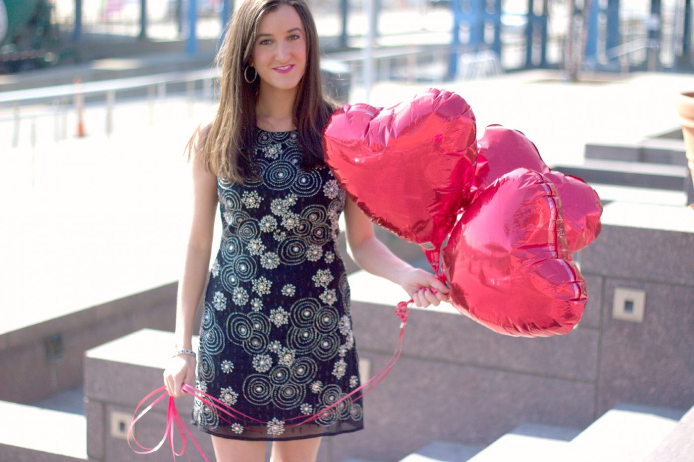 Dressy Valentine's Day Outfit