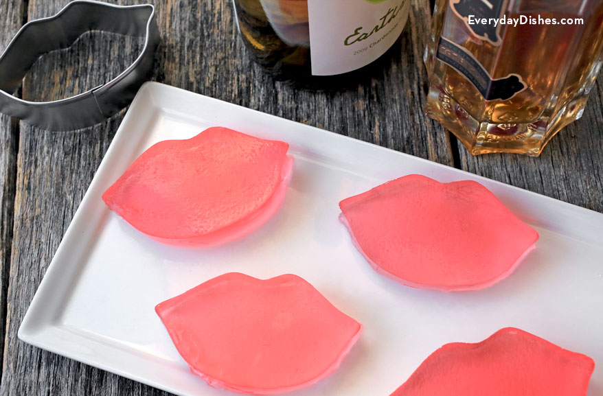 Valentine's Day Jello Shots