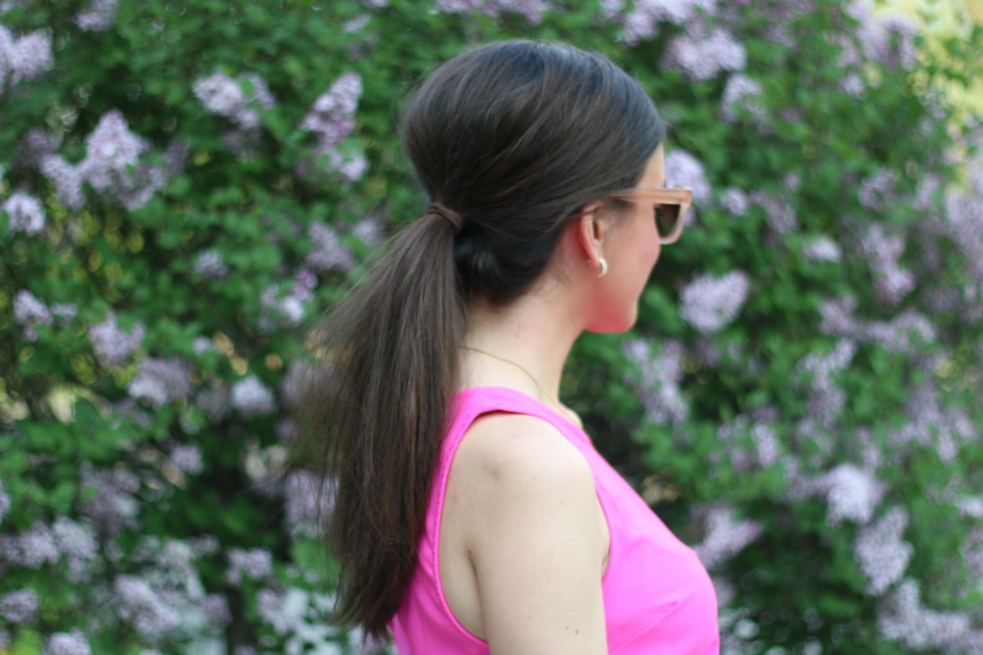 Long Hair Ponytail