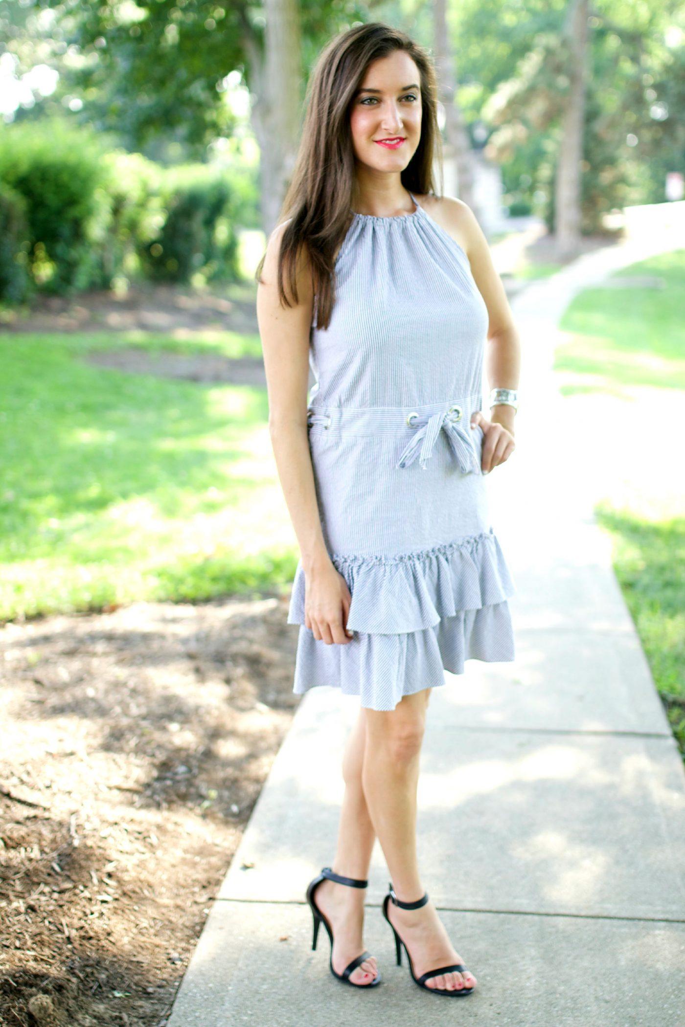 Cynthia Steffe Seersucker Dress