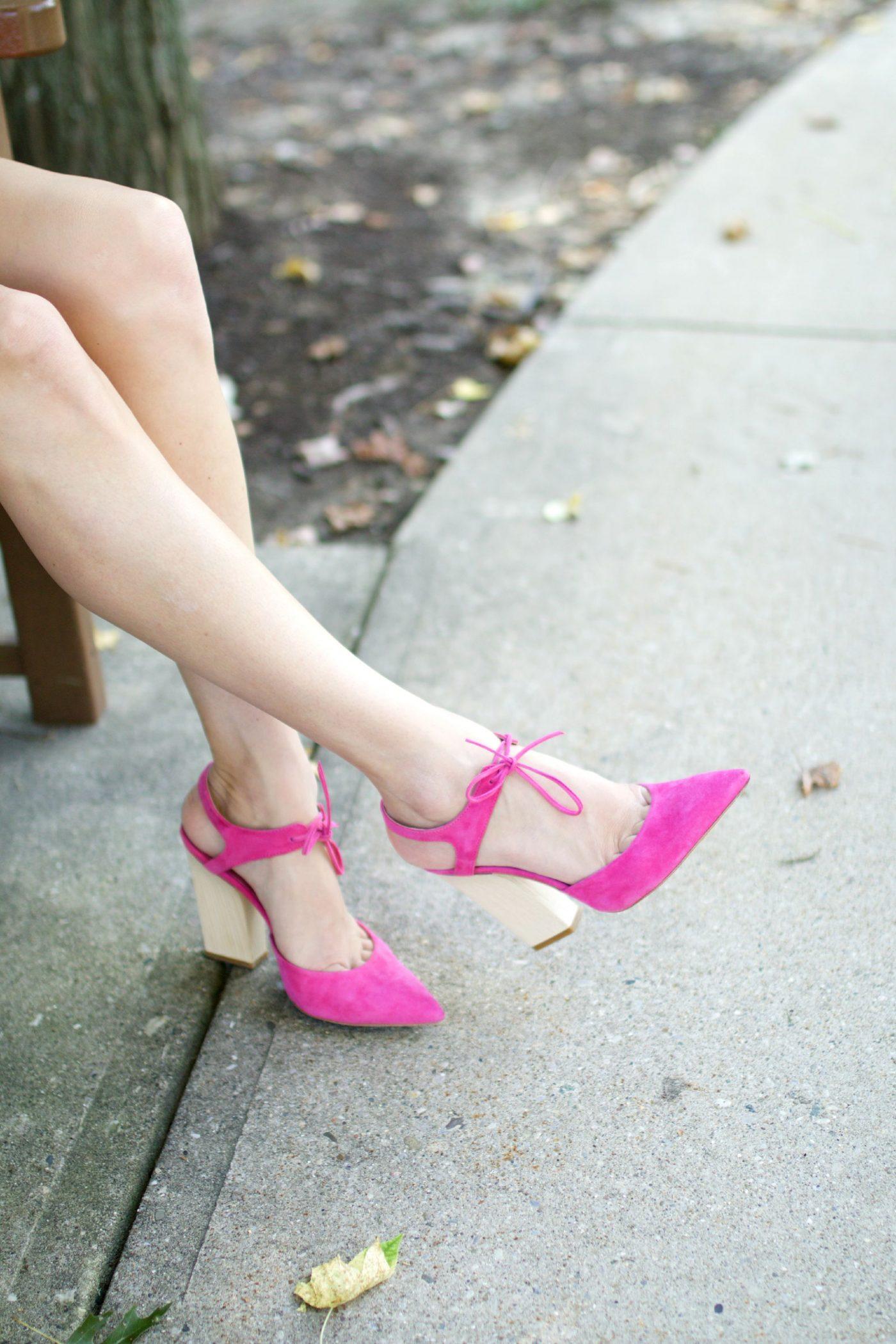 Dee Keller Pink Heels