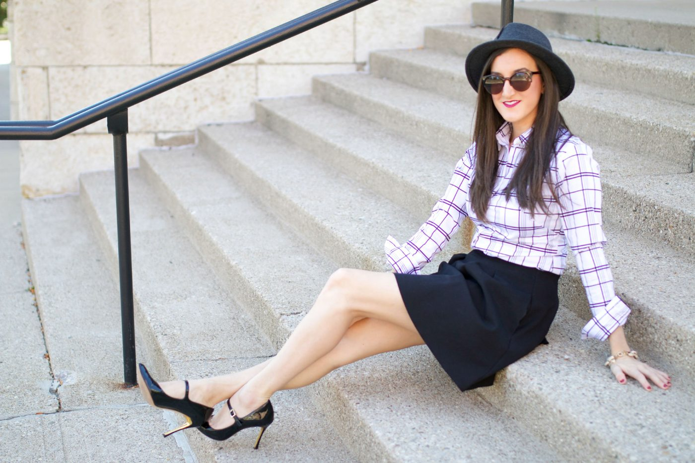 Fall Outfit Ideas Black and White