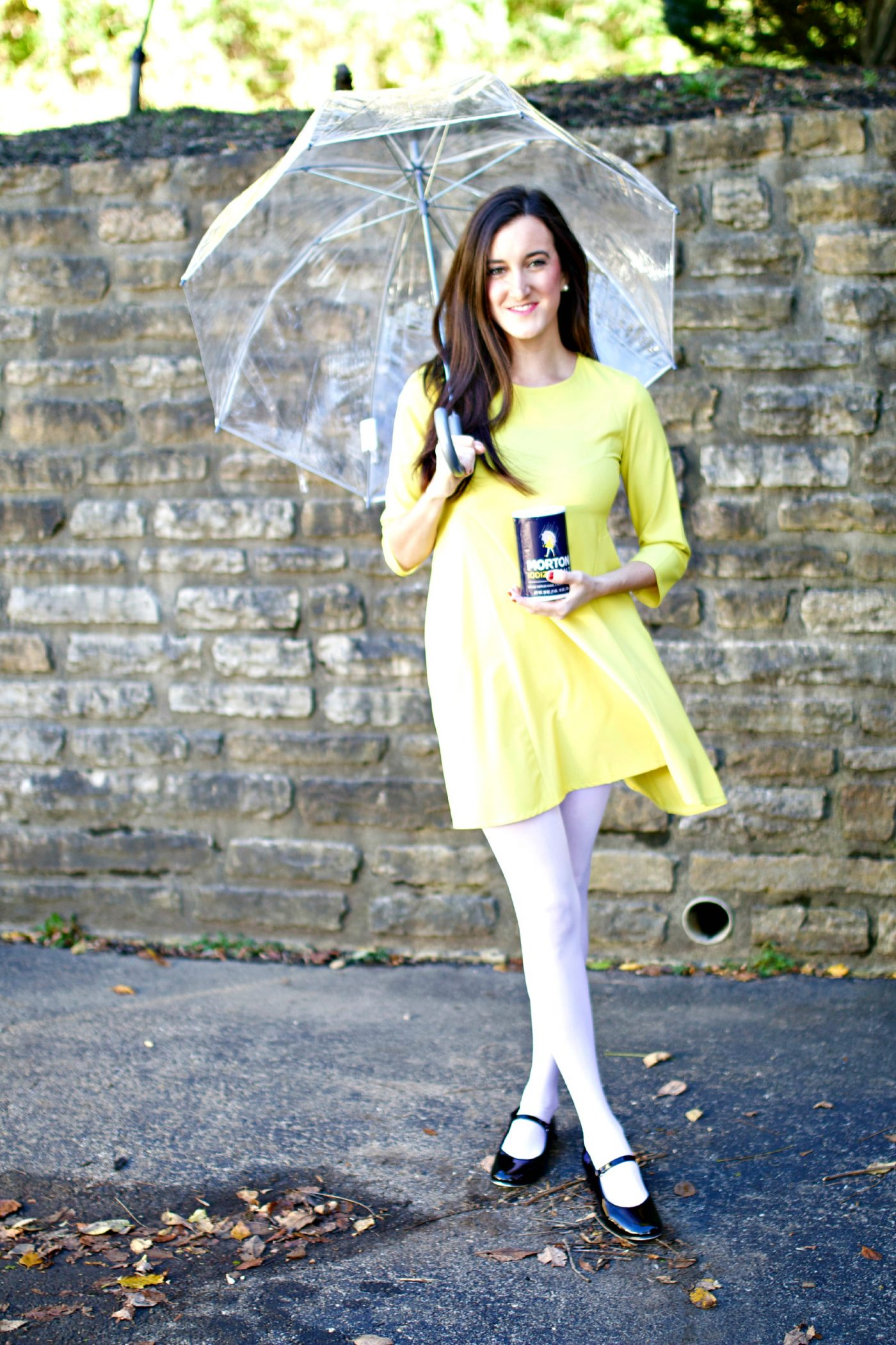 Halloween Costume Idea: Morton Salt Girl | Baubles to Bubbles