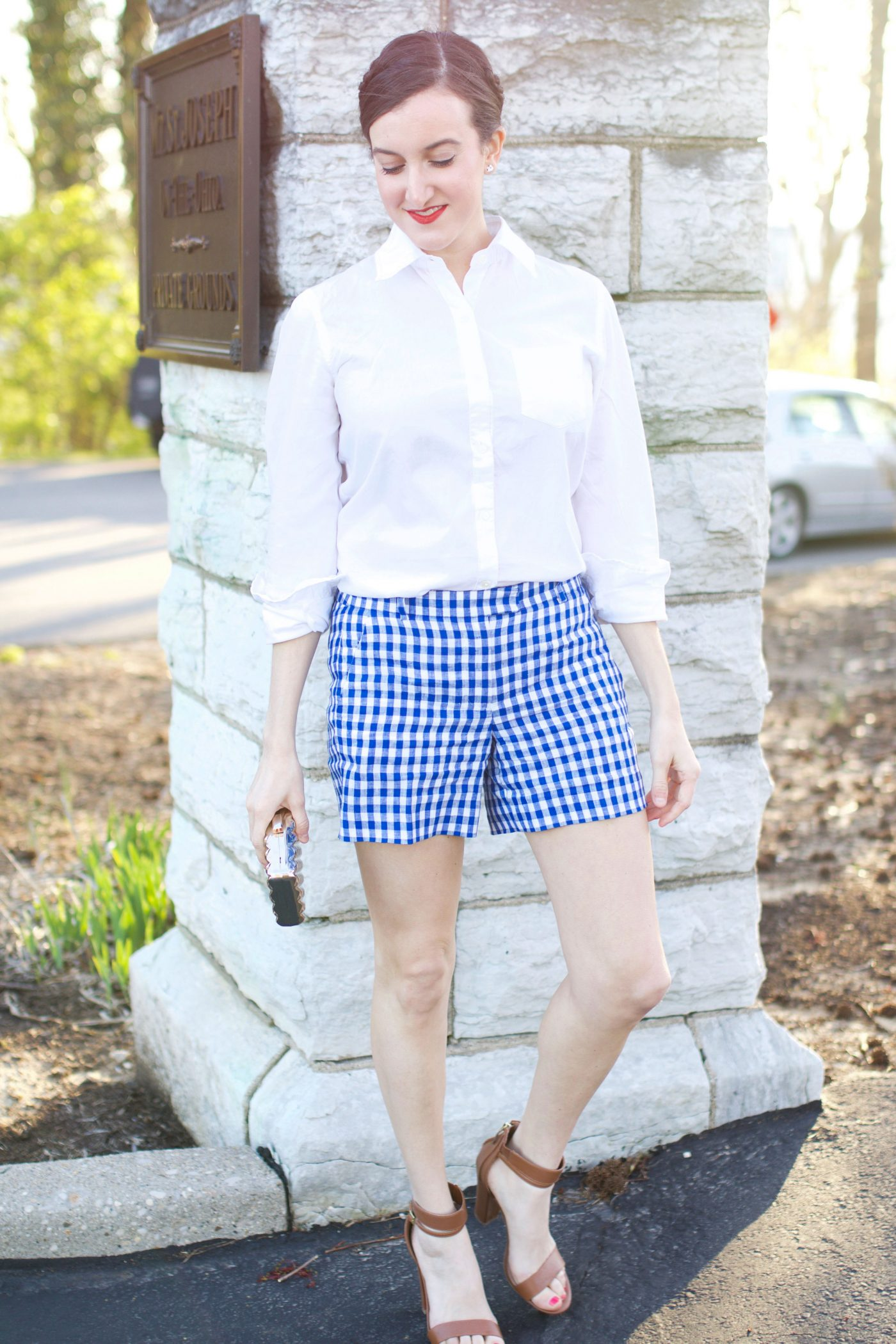 Gingham Girl | Baubles To Bubbles