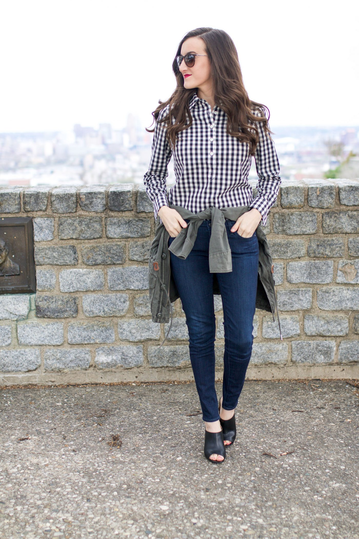Gingham Shirt Outfit Ideas