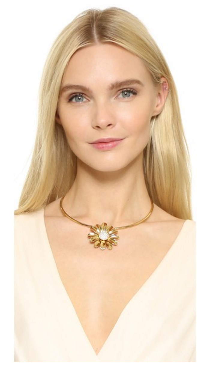 Kate Spade Dazzling Daisies Necklace