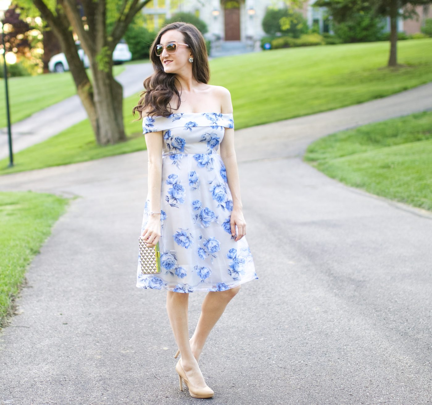 Floral Dress Boohoo