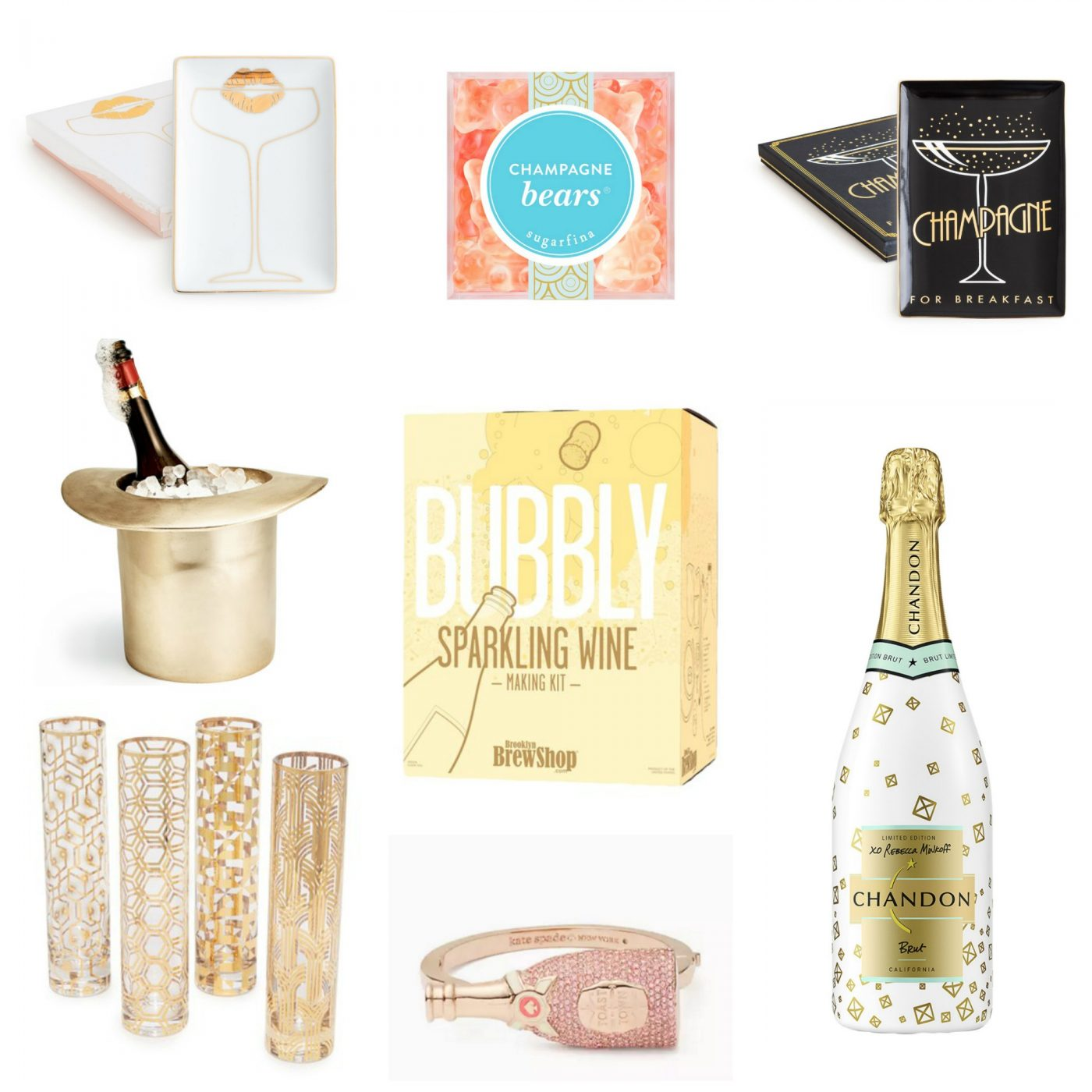 best gifts for champagne lovers