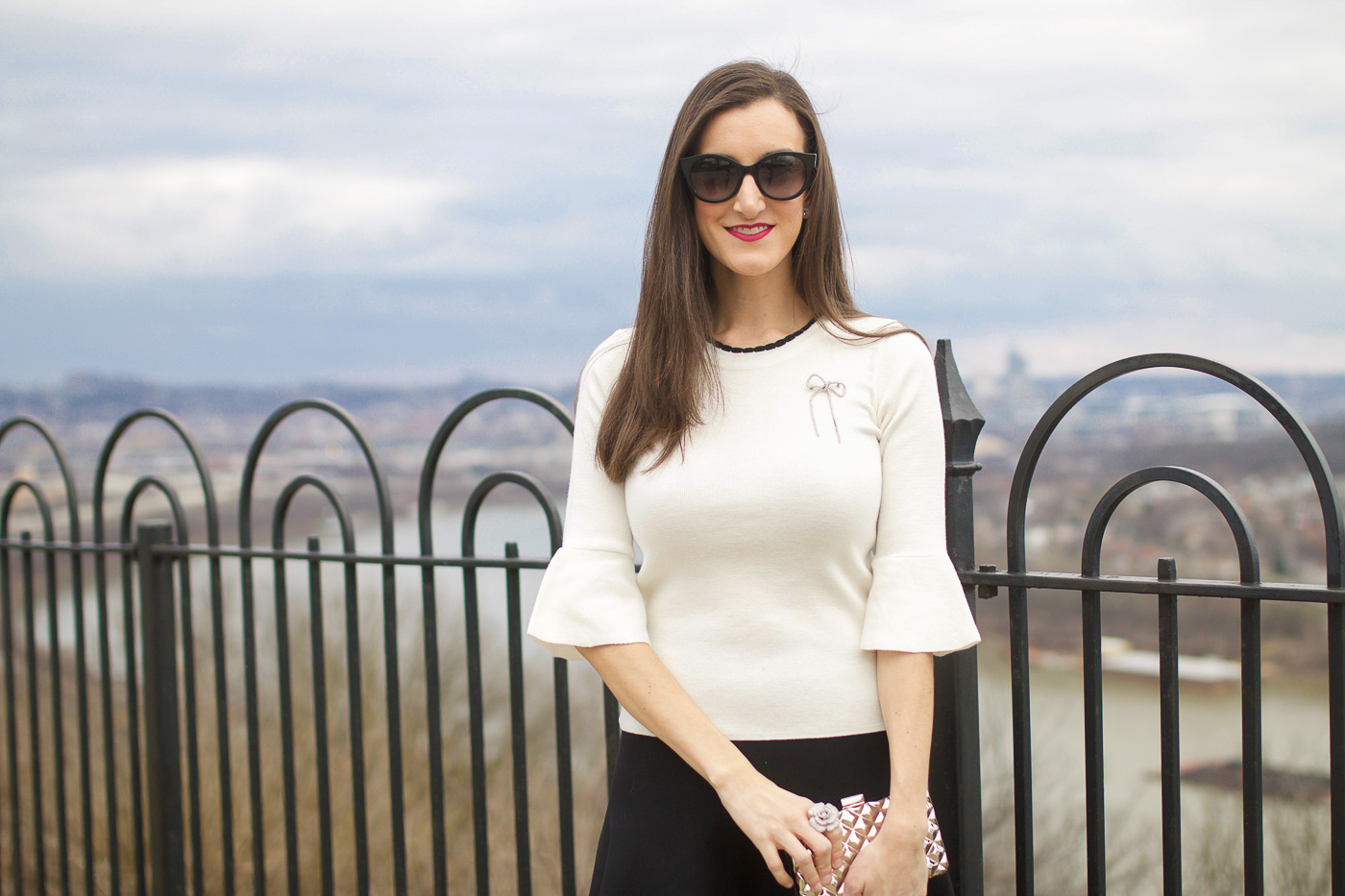 Nordstrom Bell Sleeve Top