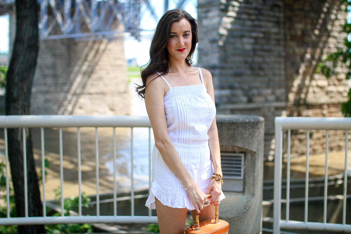 White Lace Romper Outfit Ideas | Baubles To Bubbles