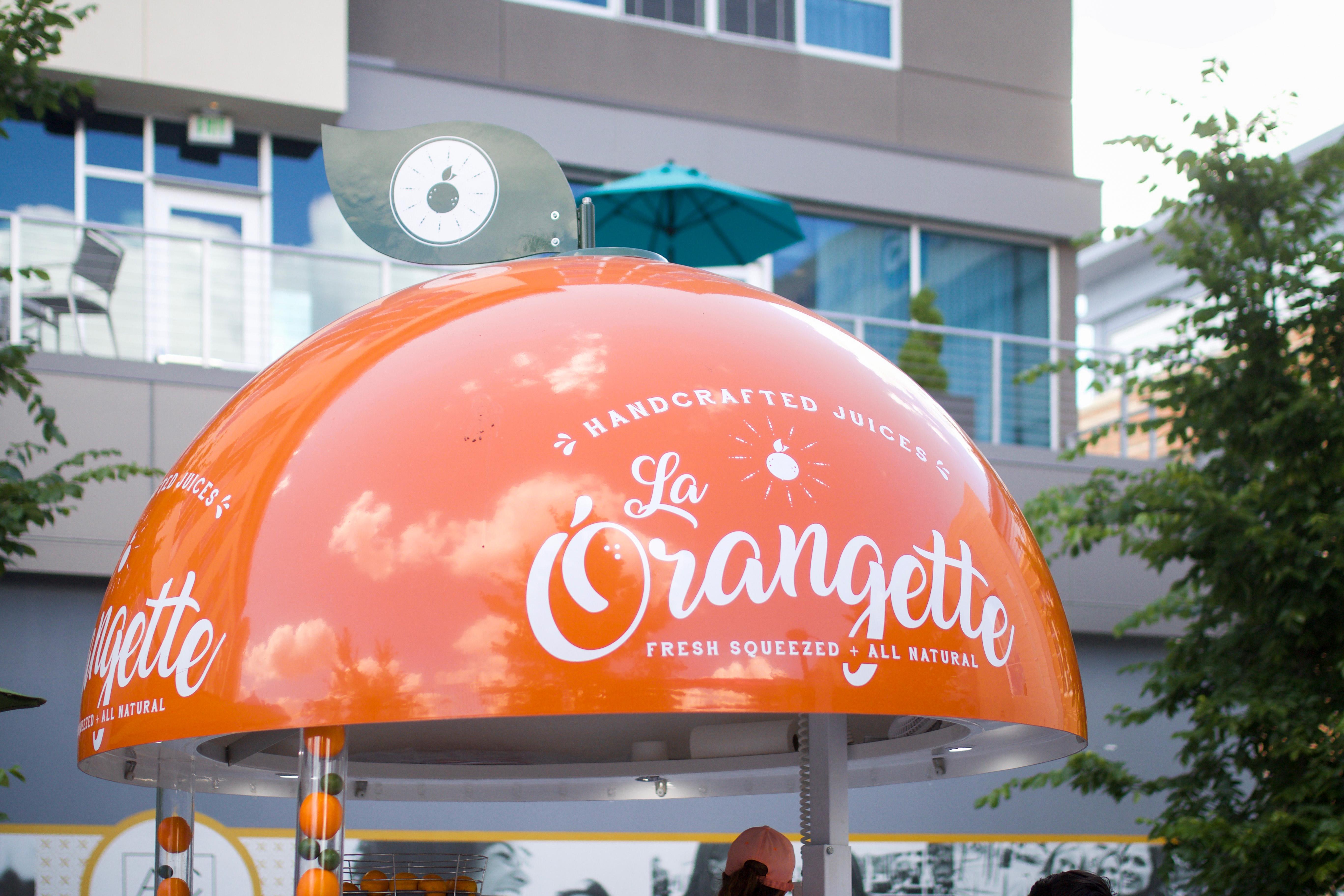 Orange Juice Truck