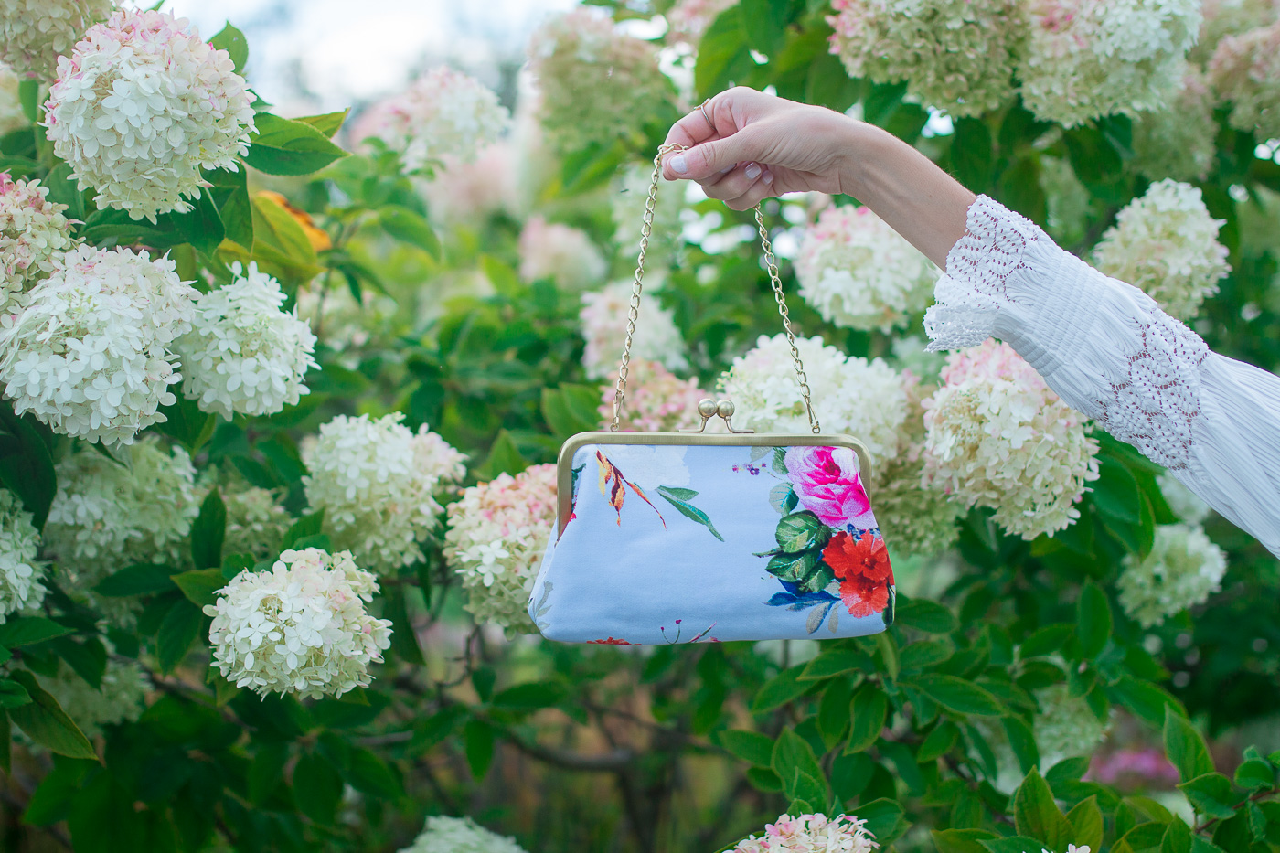 Colorful Floral Clutch