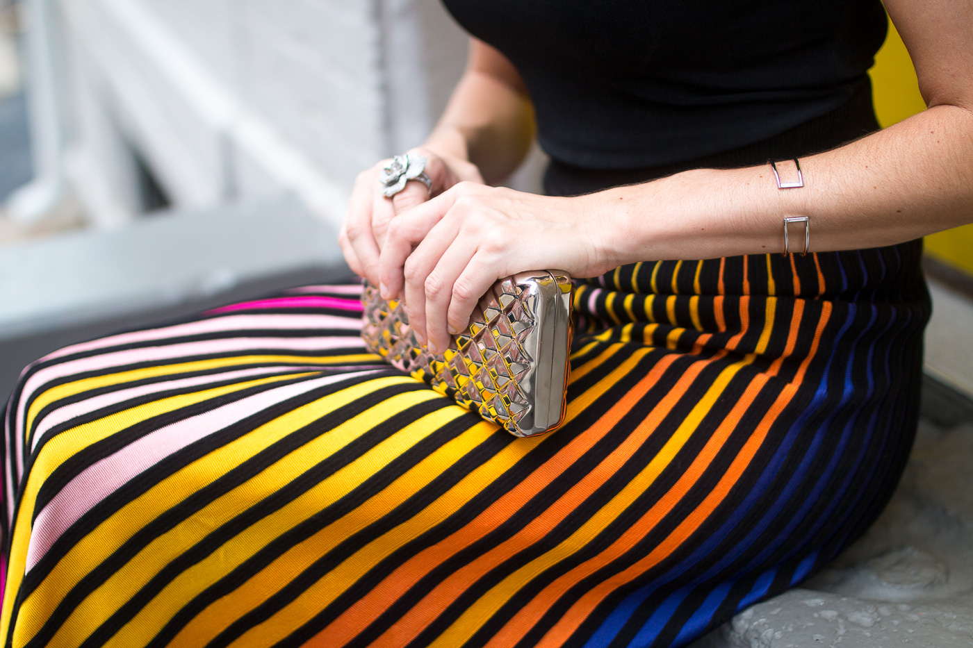 colorful skirt outfit ideas