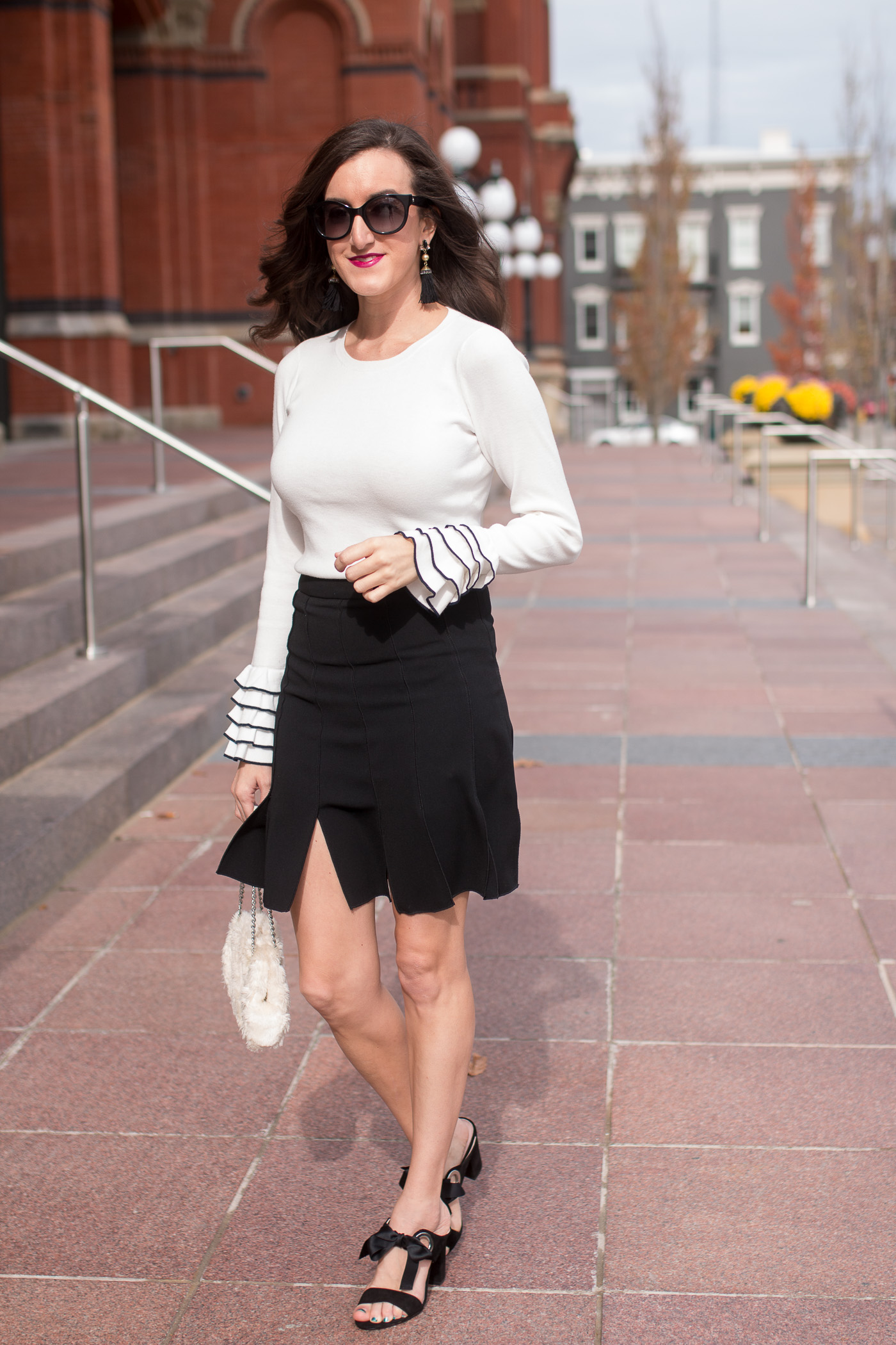 Black White Outfits for Women
