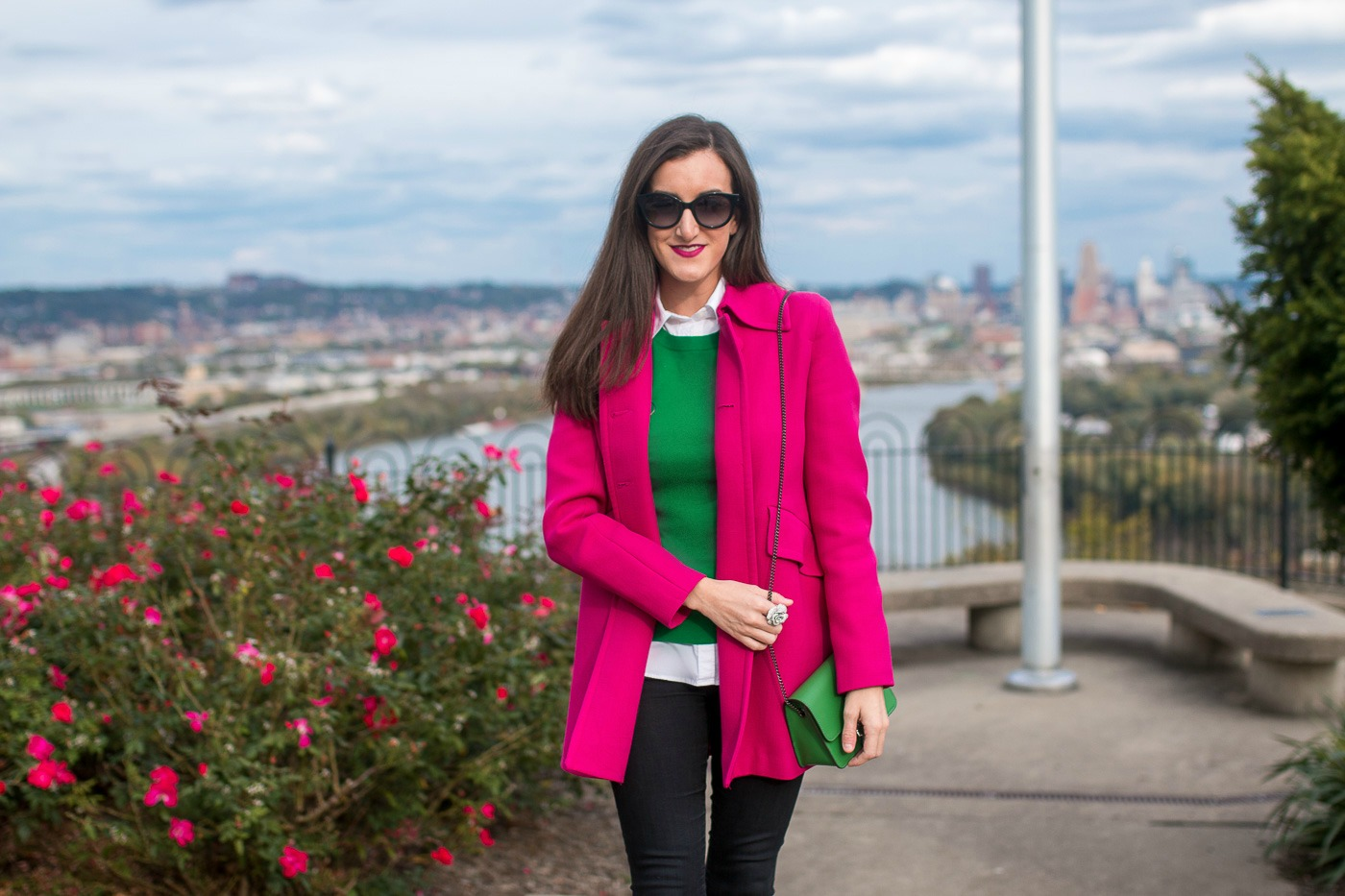 Green and Pink Outfits