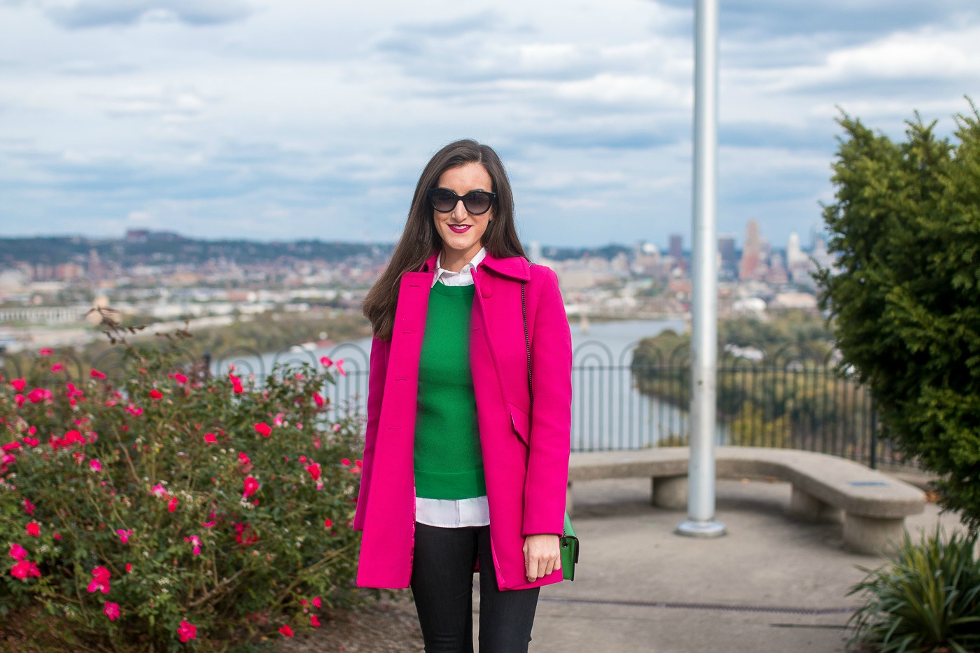 Hot Pink Winter Coat