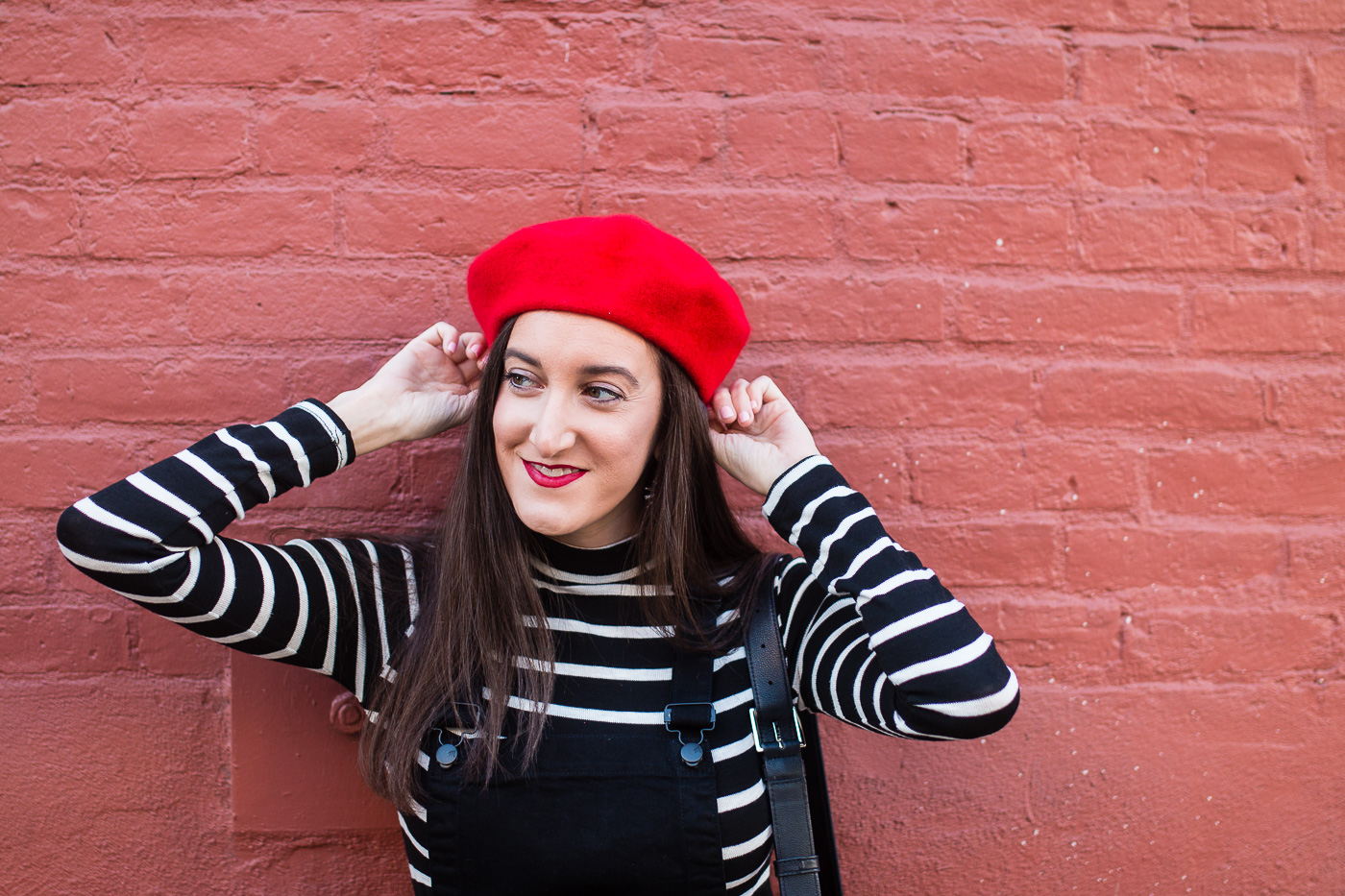 How To Style a Red Beret