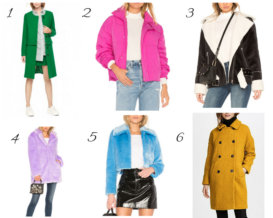 Colorful Winter Coats for Women