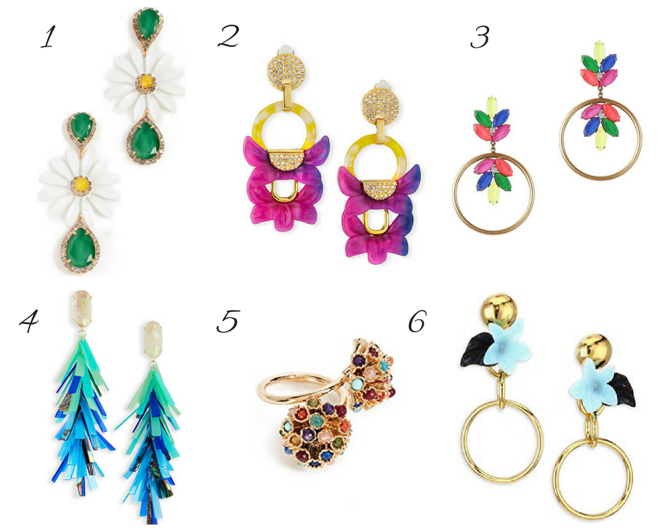Colorful Statement Jewelry