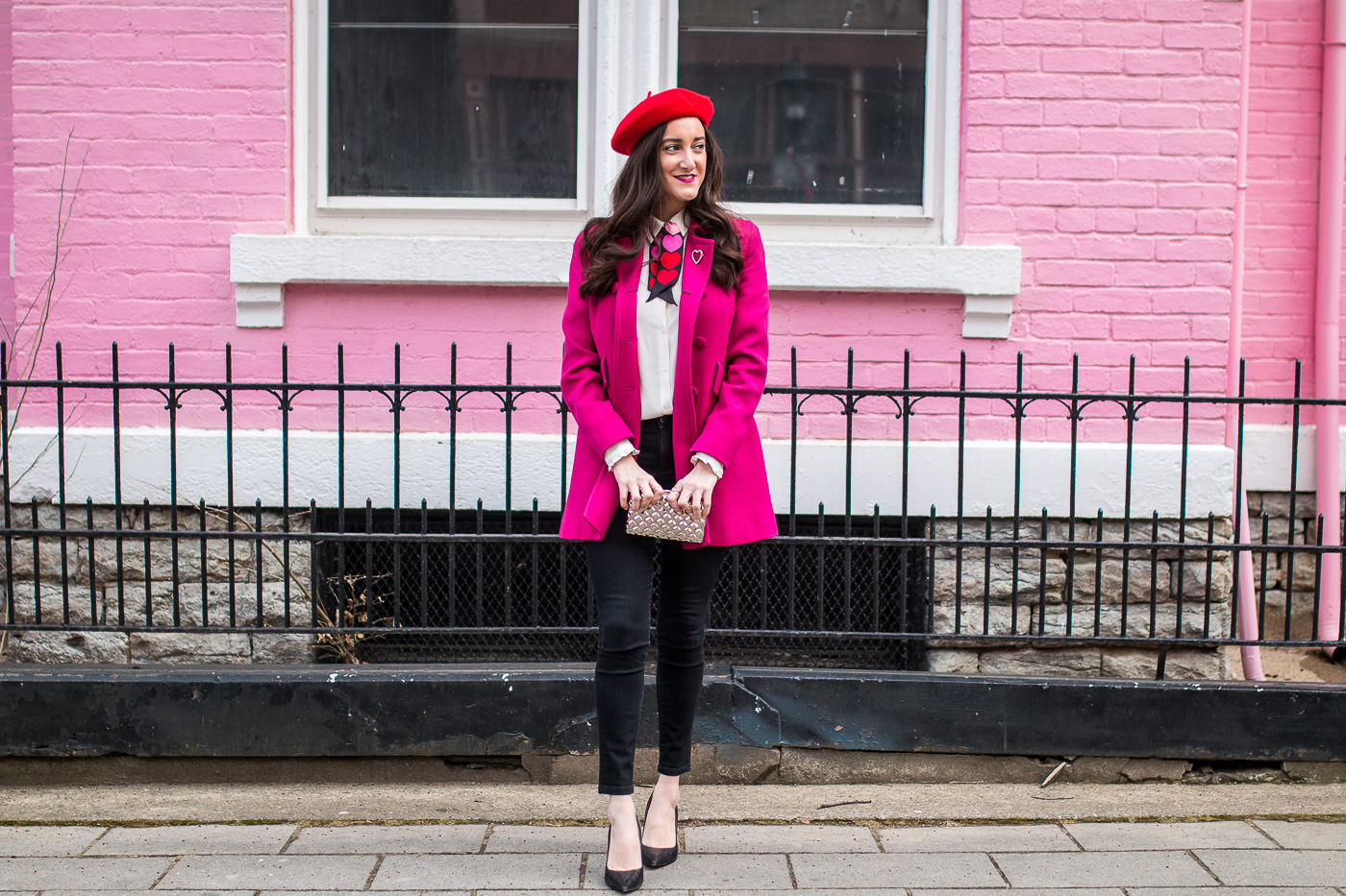 Pink and Red Outfit Ideas