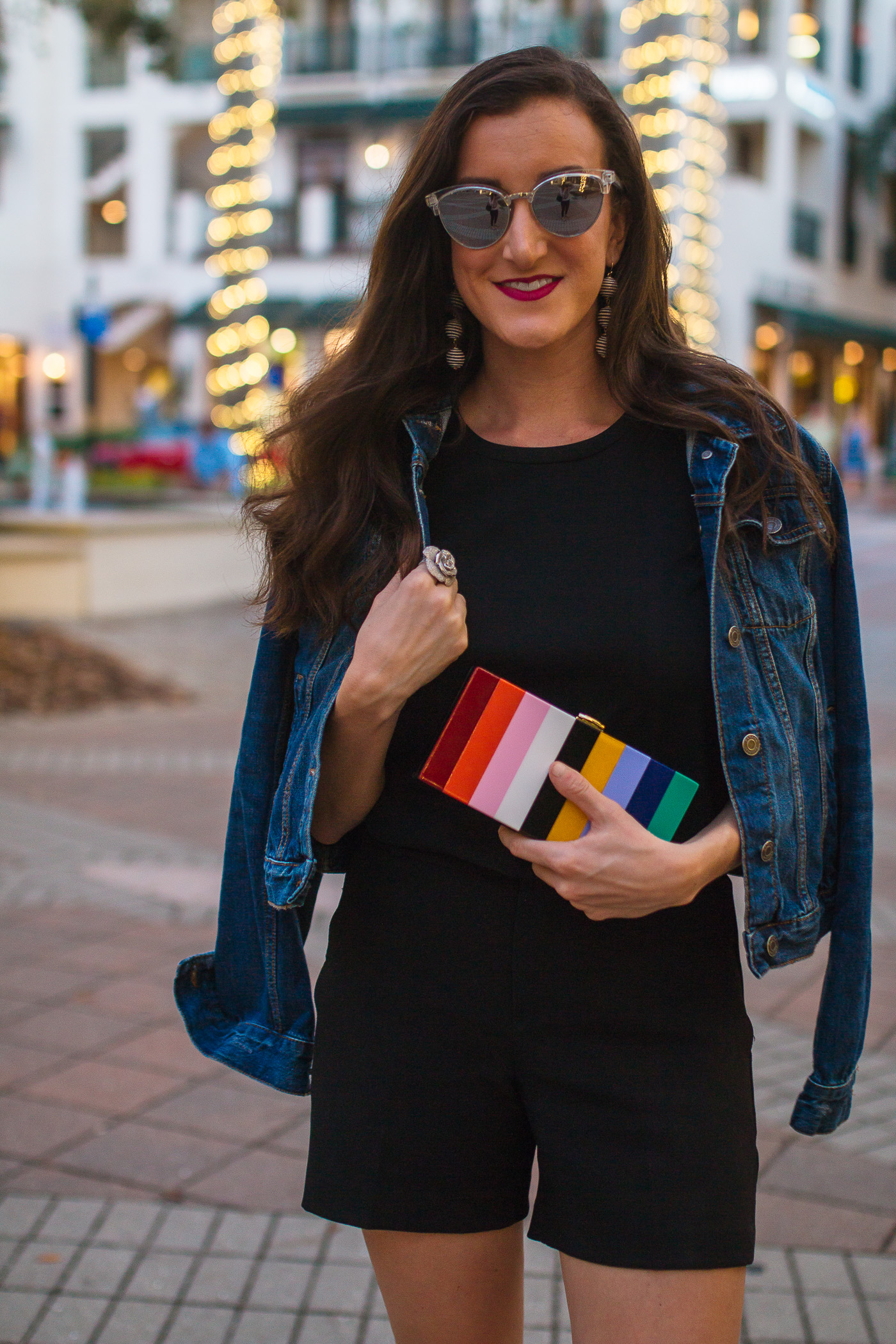 Multi Colored Clutch