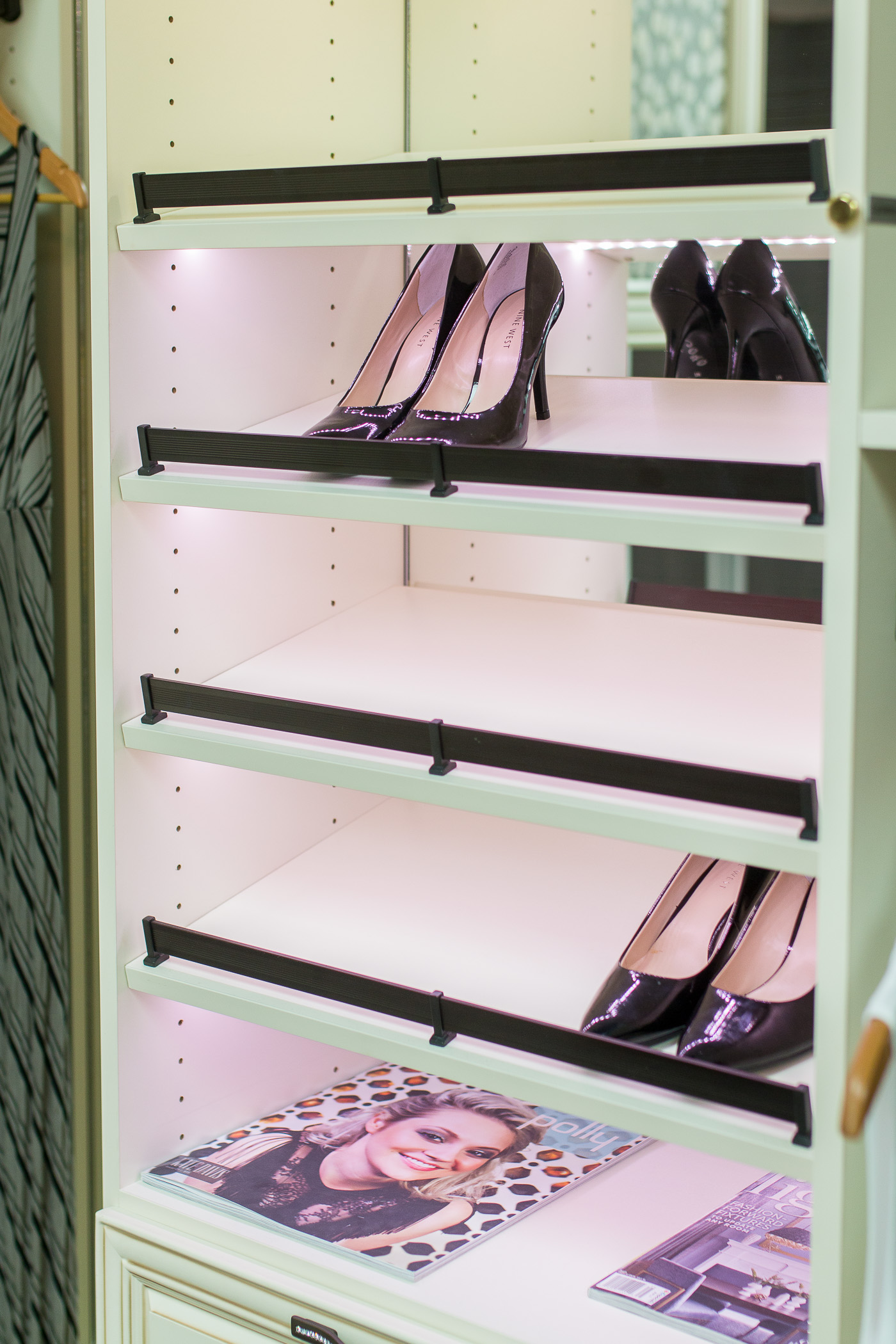 Shoe Storage California Closets