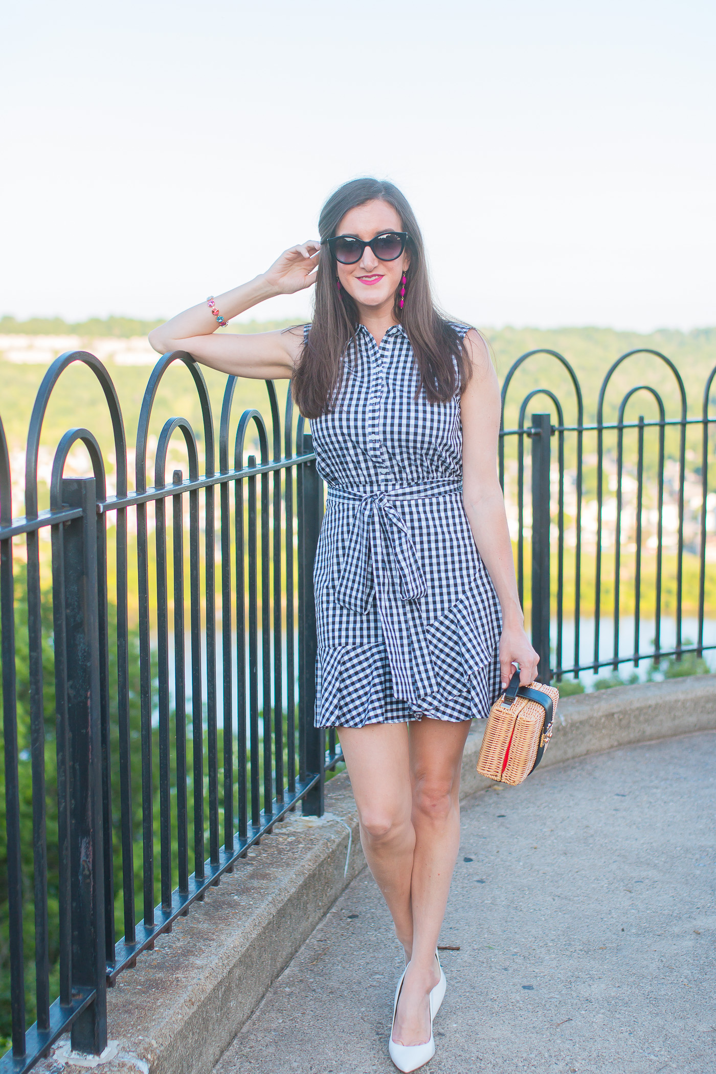 Gingham Dress - Sam Edelman Hazel