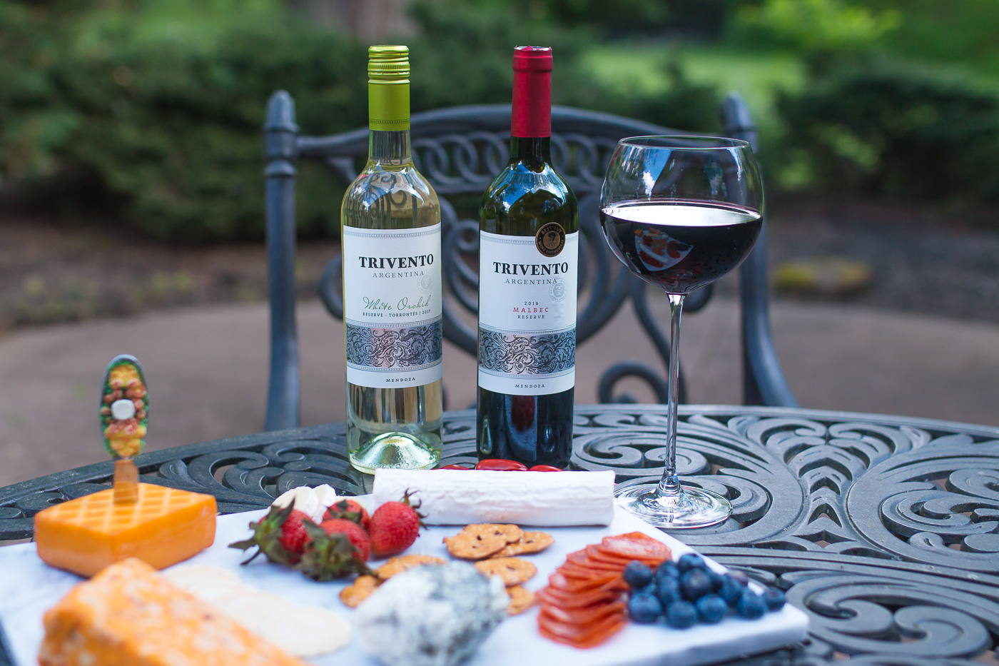 Trivento Wines with Cheese Board