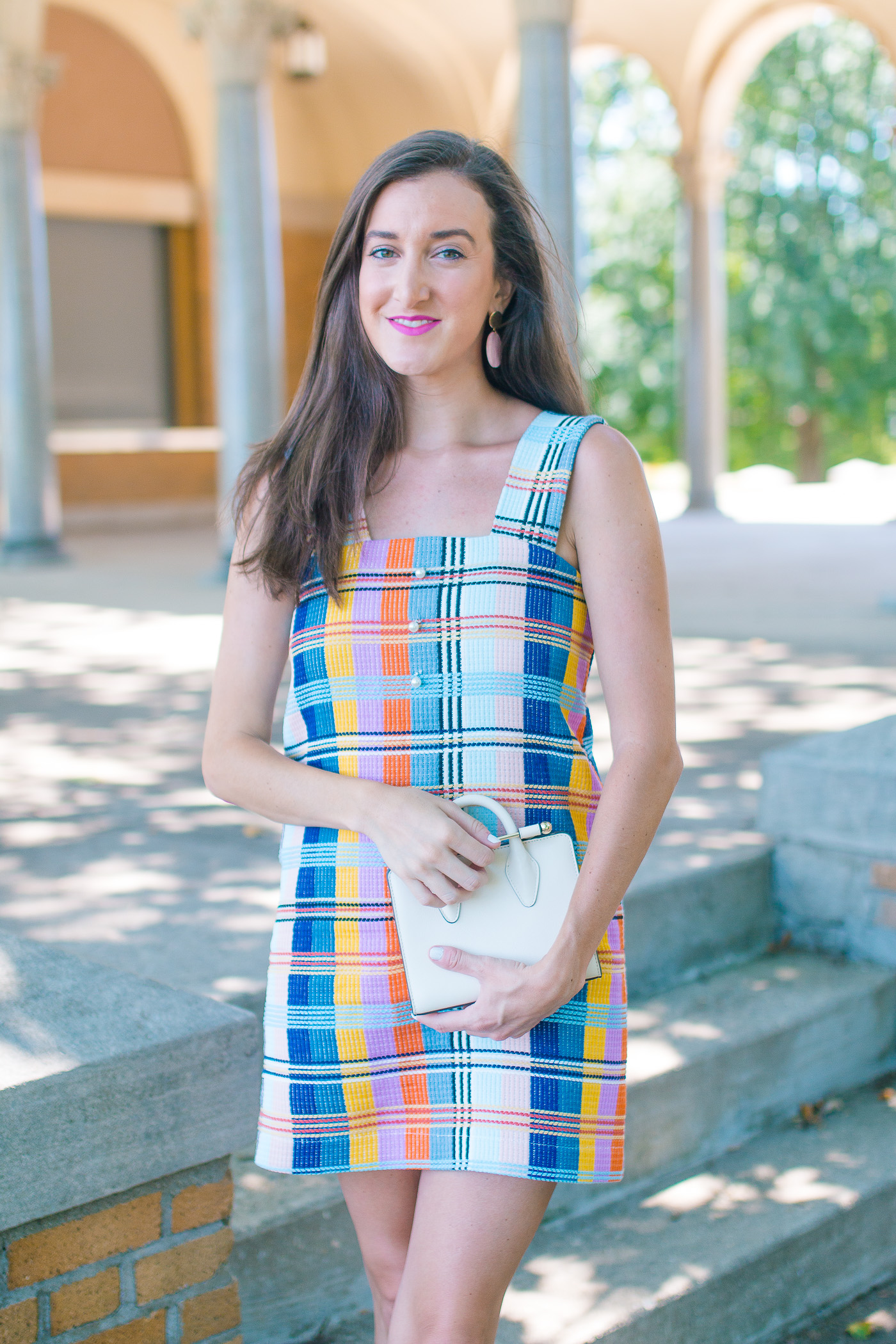 Colorful Pinafore Dress