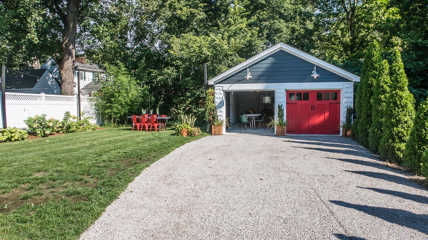 Red Garage Doors
