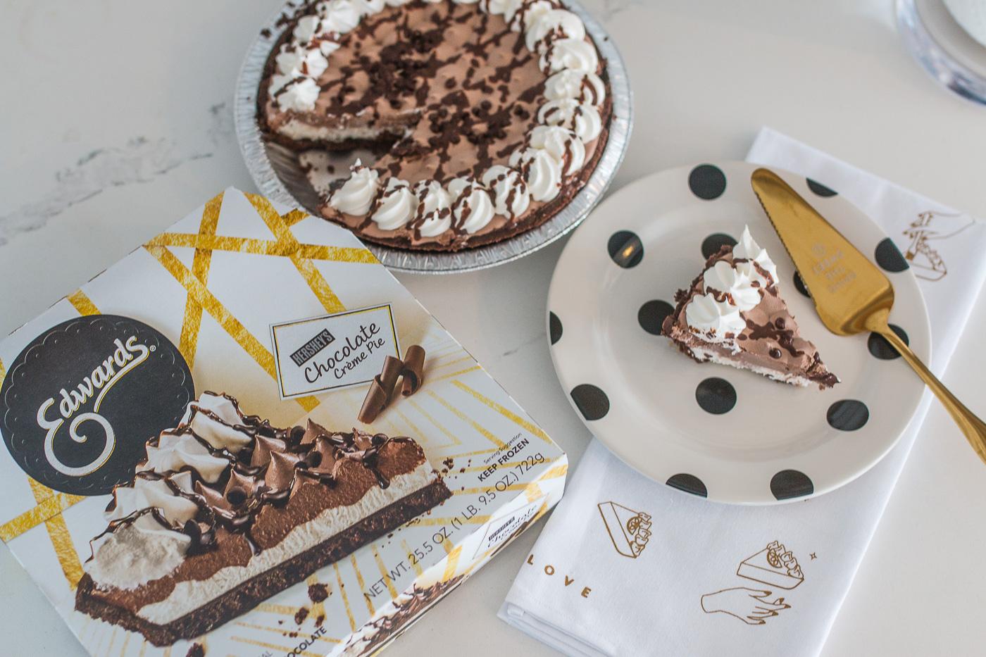 Edwards Desserts Hersheys Chocolate Pie