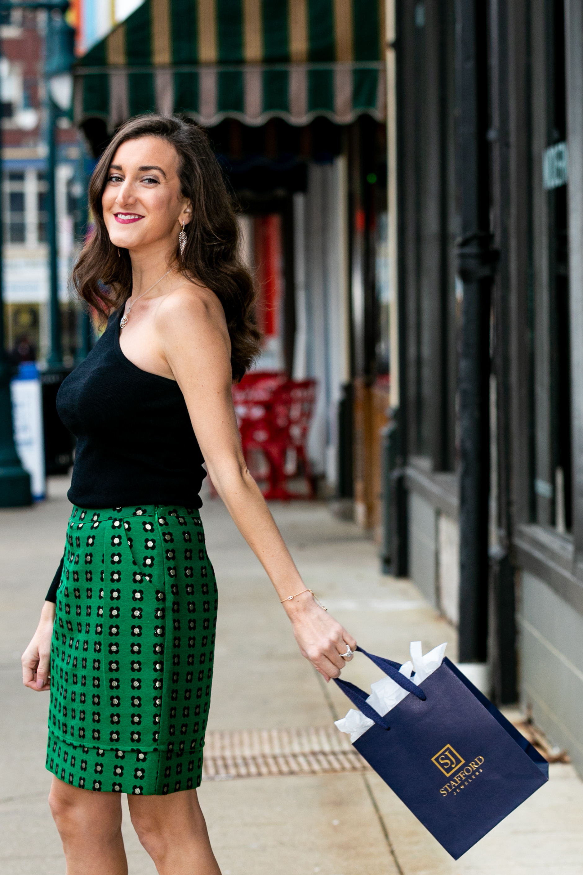 Stafford Jewelers with Cincinnati Fashion Blogger Olivia Johnson of Baubles to Bubbles