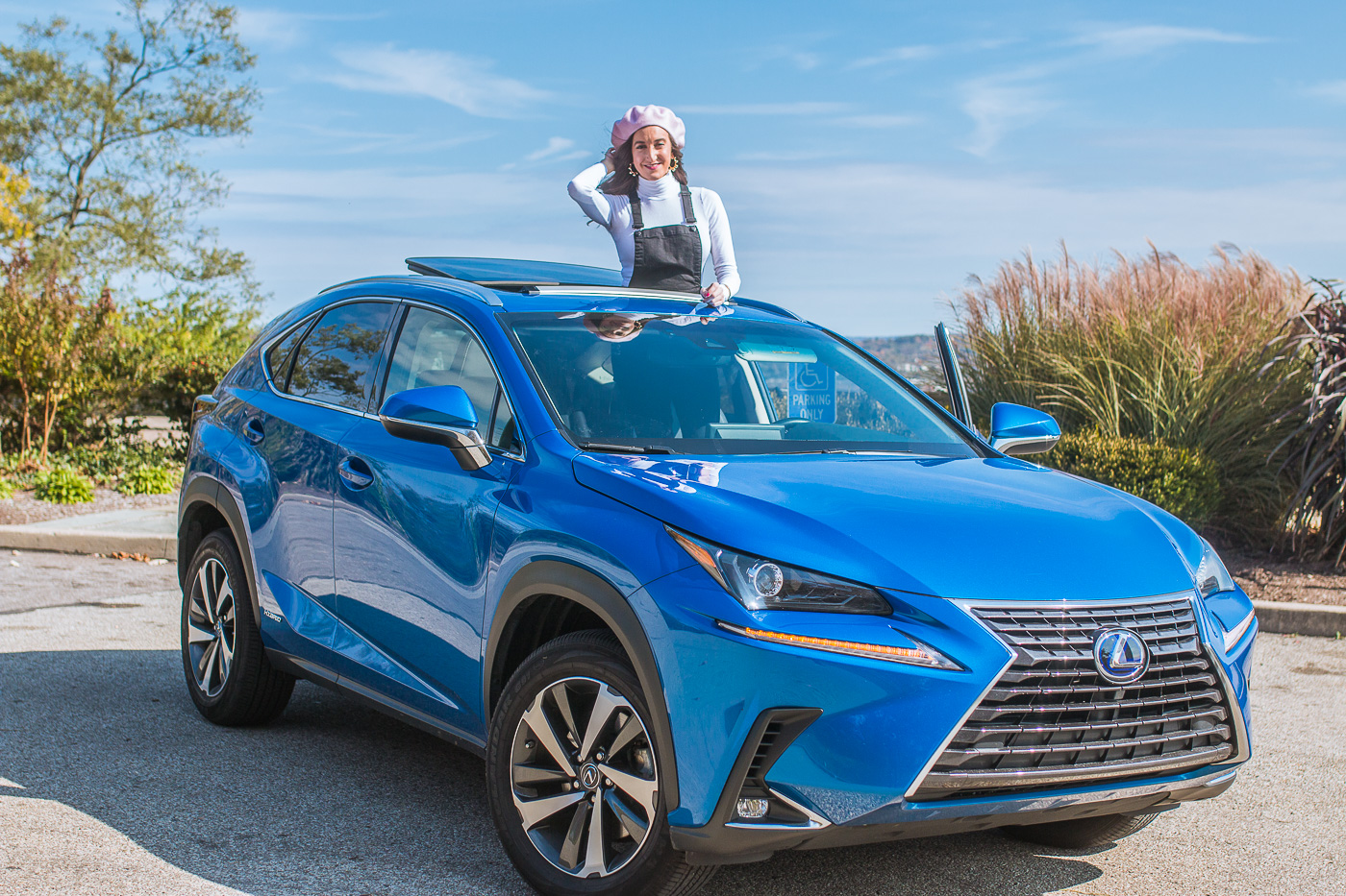 Lexus NX Hybrid Blogger Collaboration with Cincinnati Fashion Blogger Baubles to Bubbles